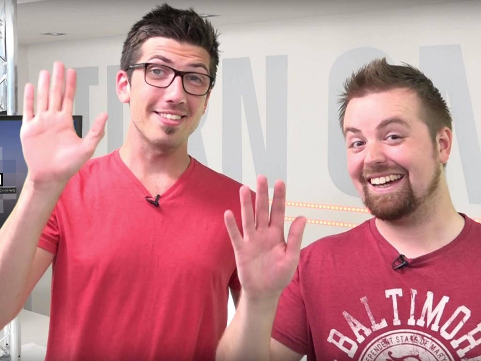 Zwei Männer, eine Mission: ein neuer Sendeplan für TURN ON auf YouTube.