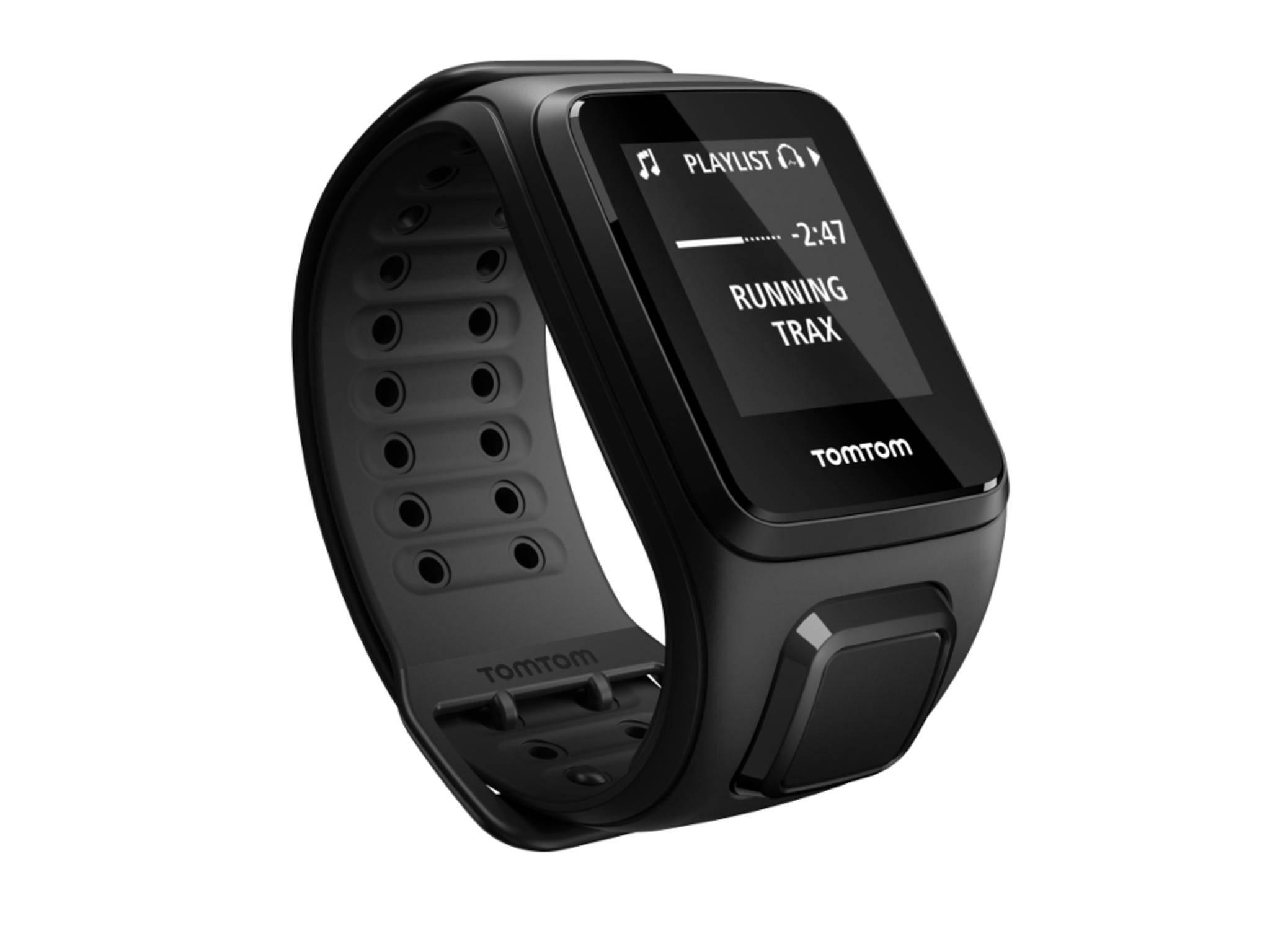 Die TomTom Spark kombiniert GPS-Sportuhr und MP3-Player,