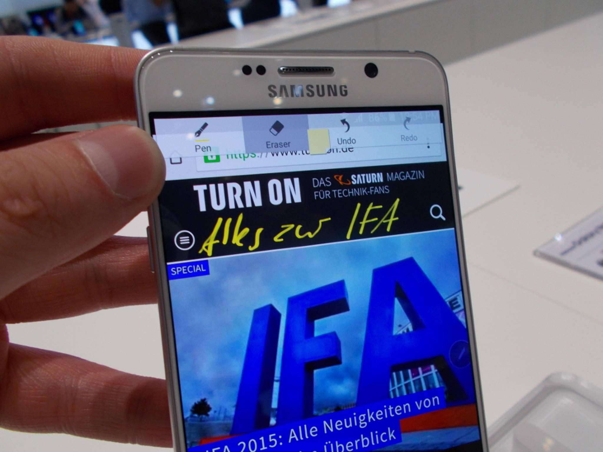 TurnOn_IFA2015_Samsung