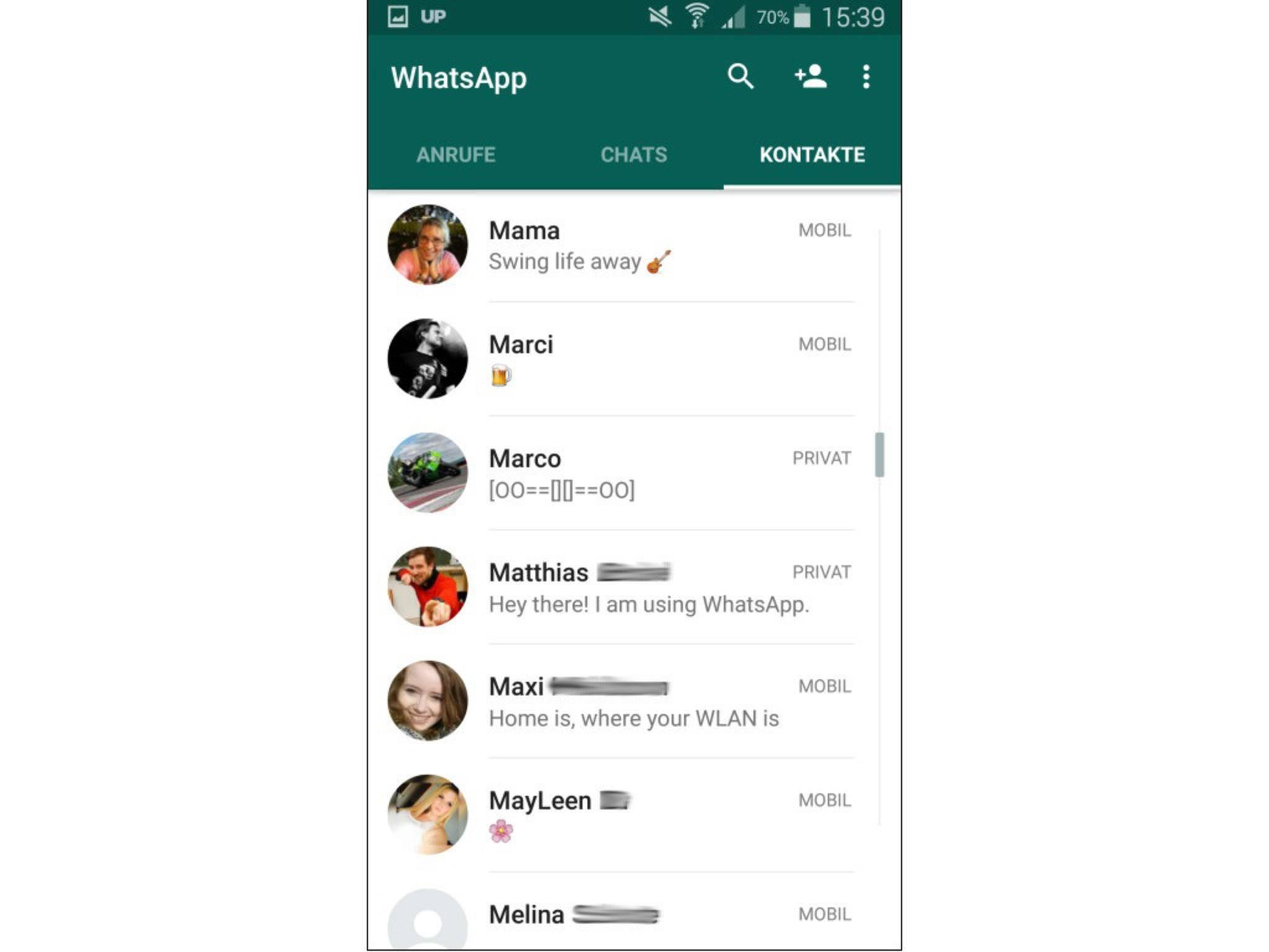 Whatsapp status spr che die besten spr che f r jede for Whatsapp status ideen