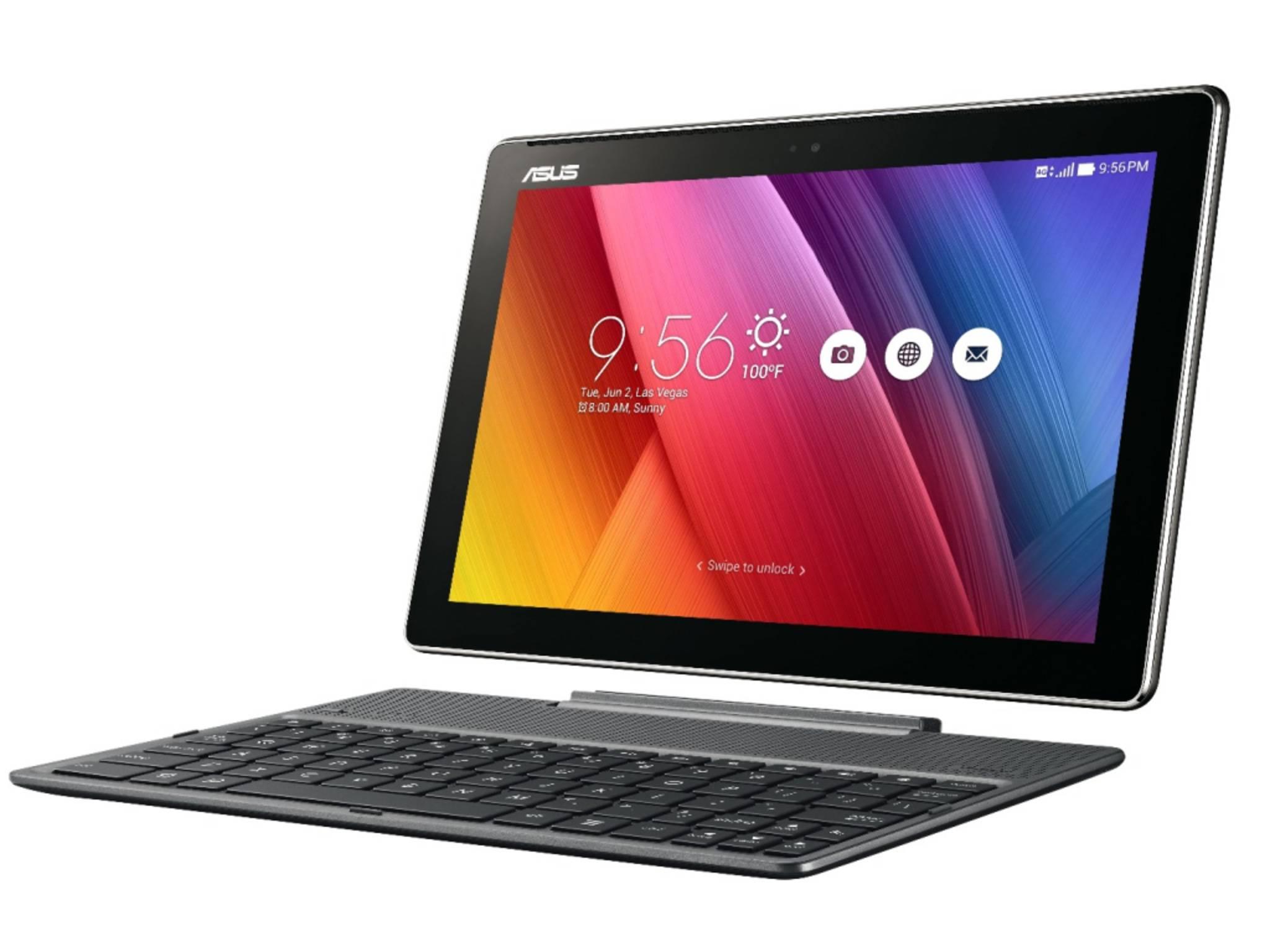 Zum mobilen Arbeiten empfiehlt sich das Asus ZenPad 10.