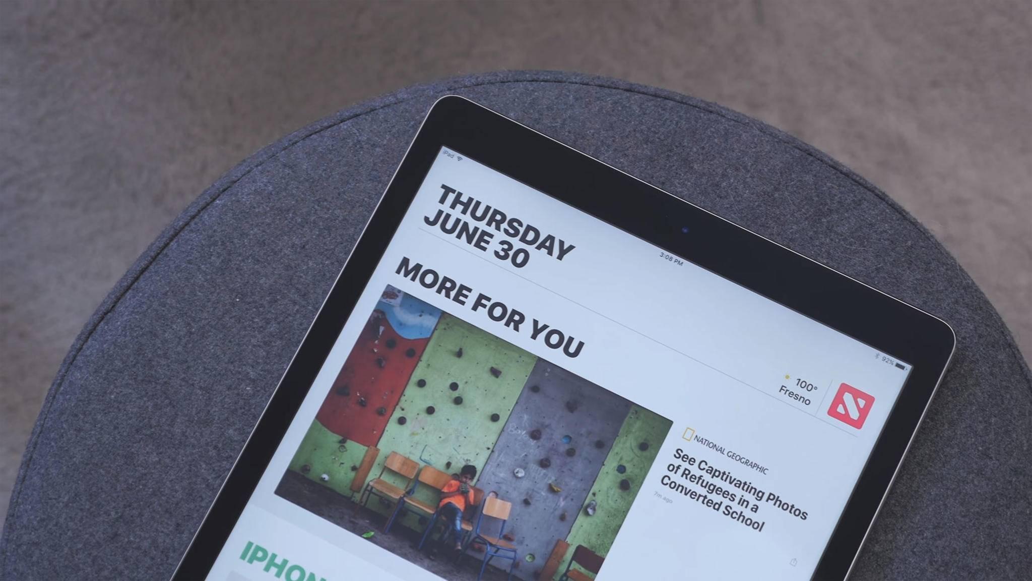 Apples News-App bekommst Du in Deutschland nur über Umwege.