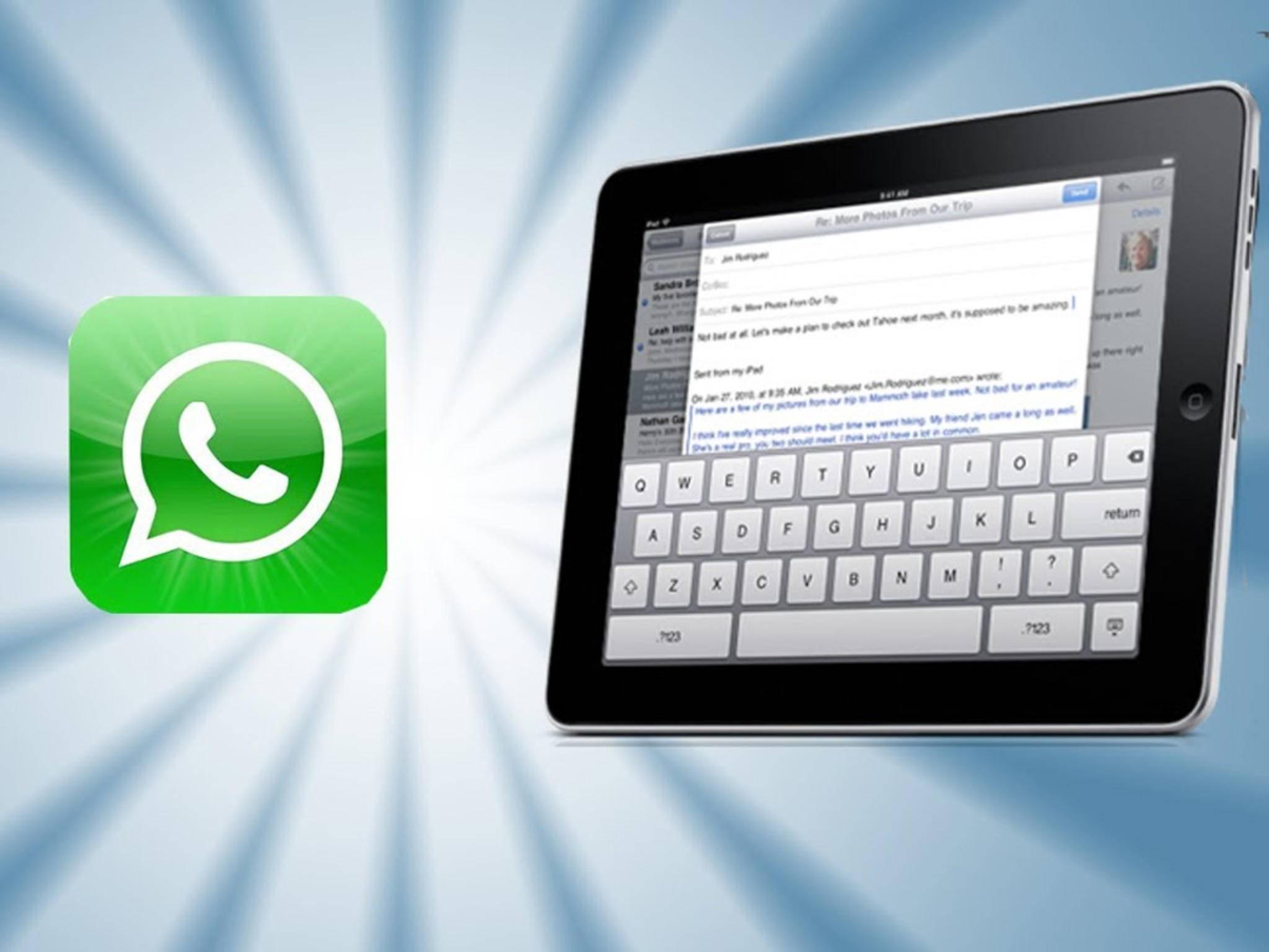 So nutzt Du WhatsApp Web auf Deinem iPad.