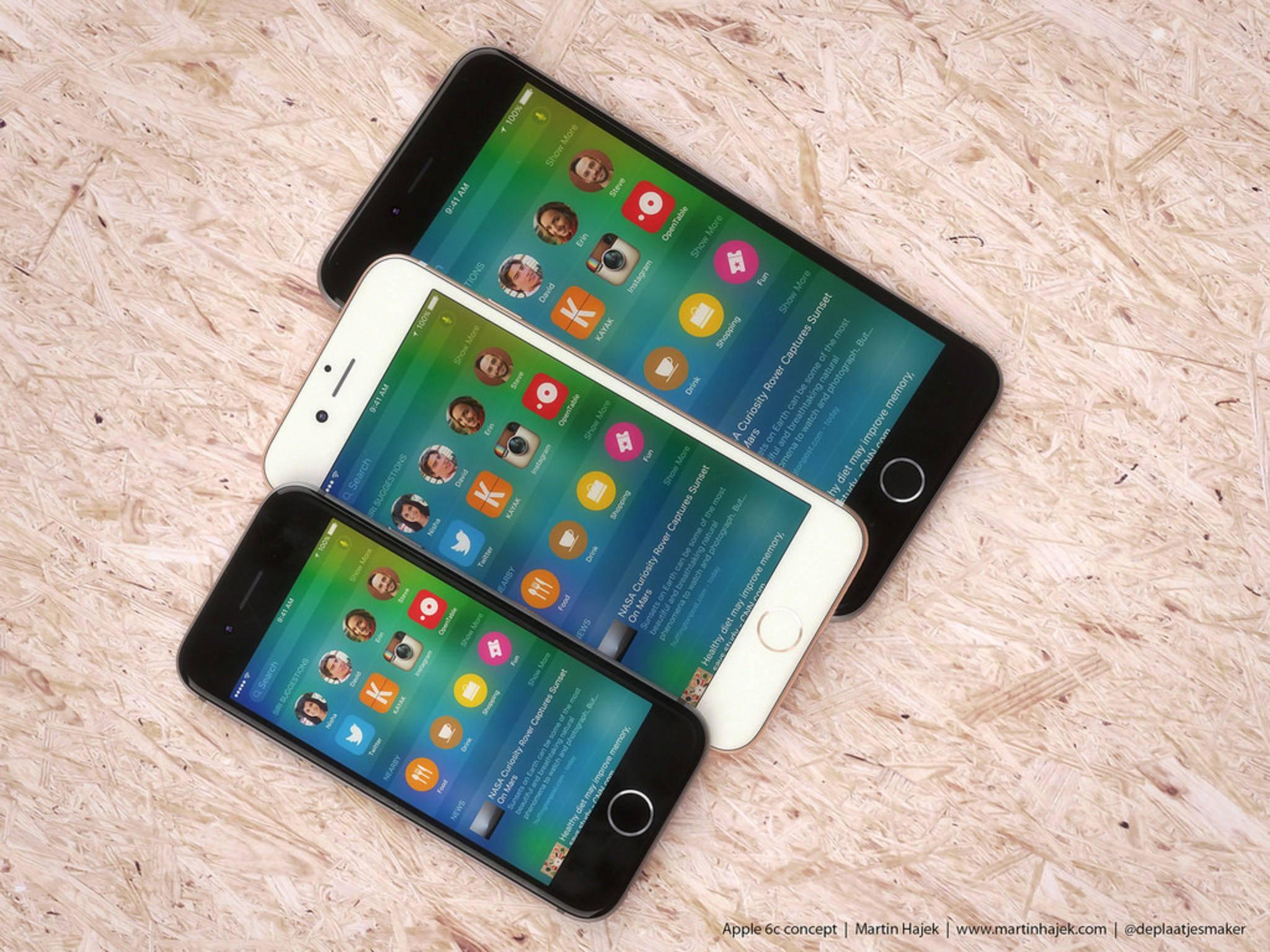 Zwischenzeitlich schienen die Pläne zum iPhone 6c begraben zu sein.