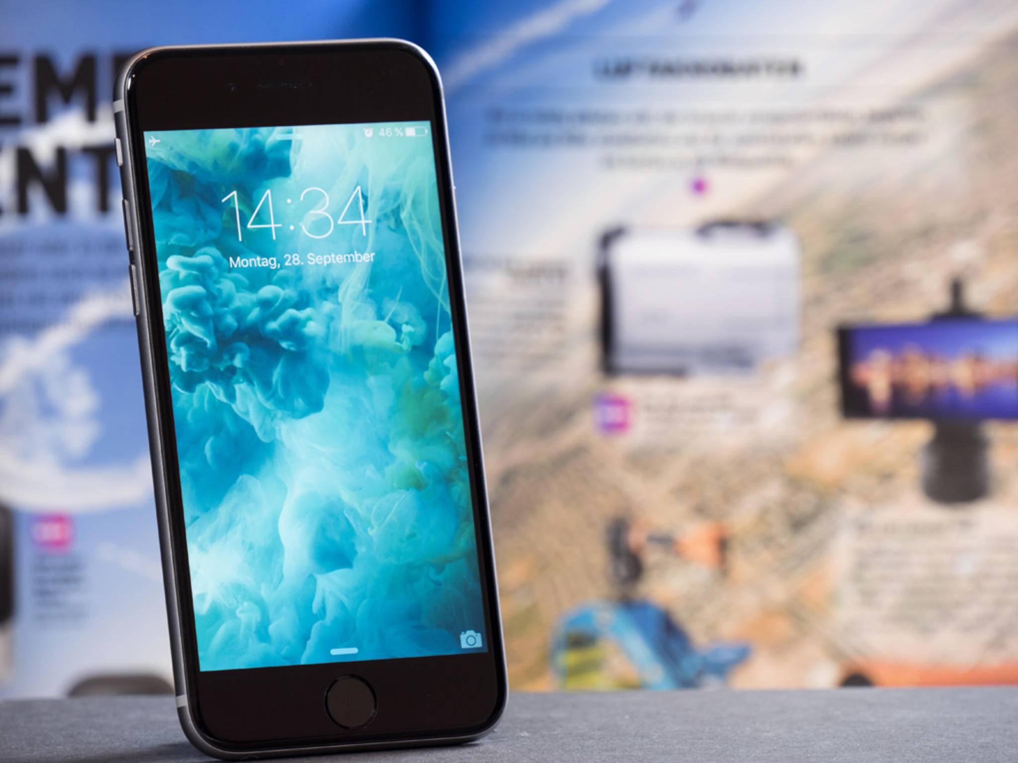 Lag anscheinend unter vielen Weihnachtsbäumen: Das iPhone 6s.