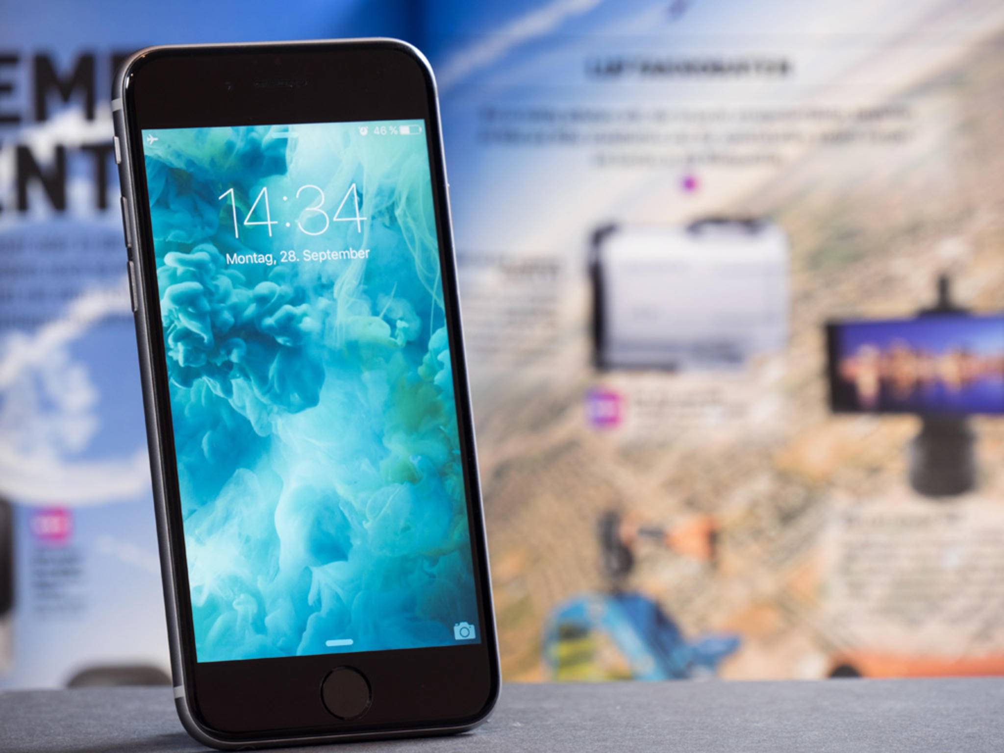 Das iPhone 6 soll in Peking wegen Patentstreitigkeiten nicht mehr verkauft werden.