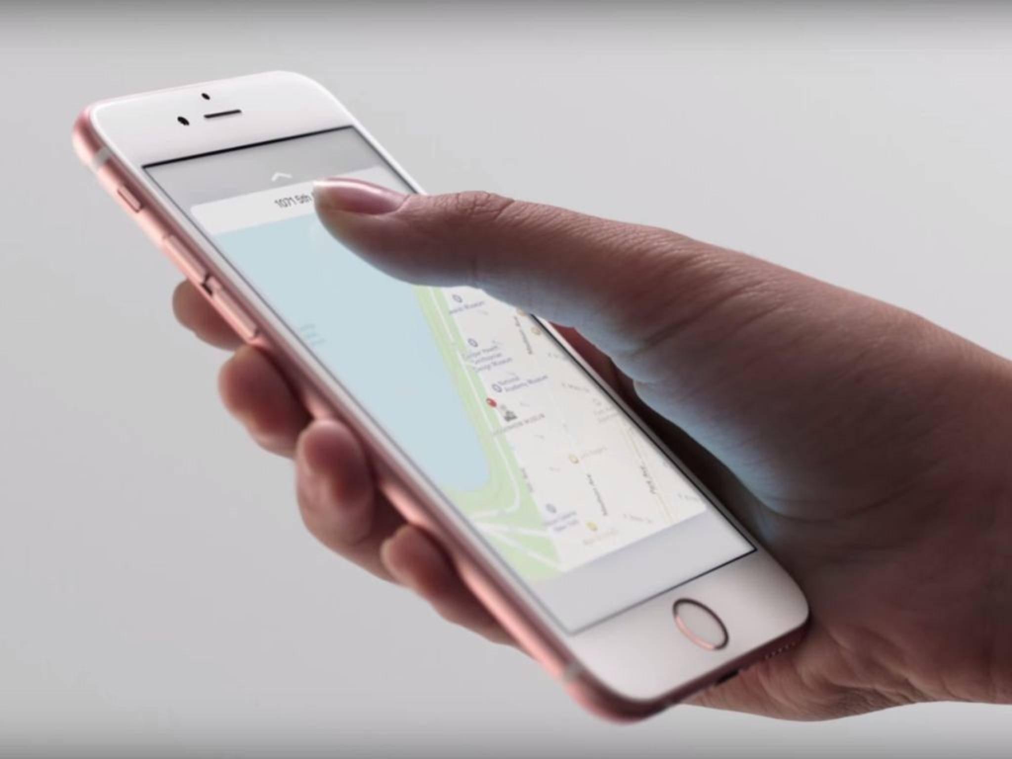 Die Roségold-Version des iPhone 6s wurde bereits in freier Wildbahn gesichtet.