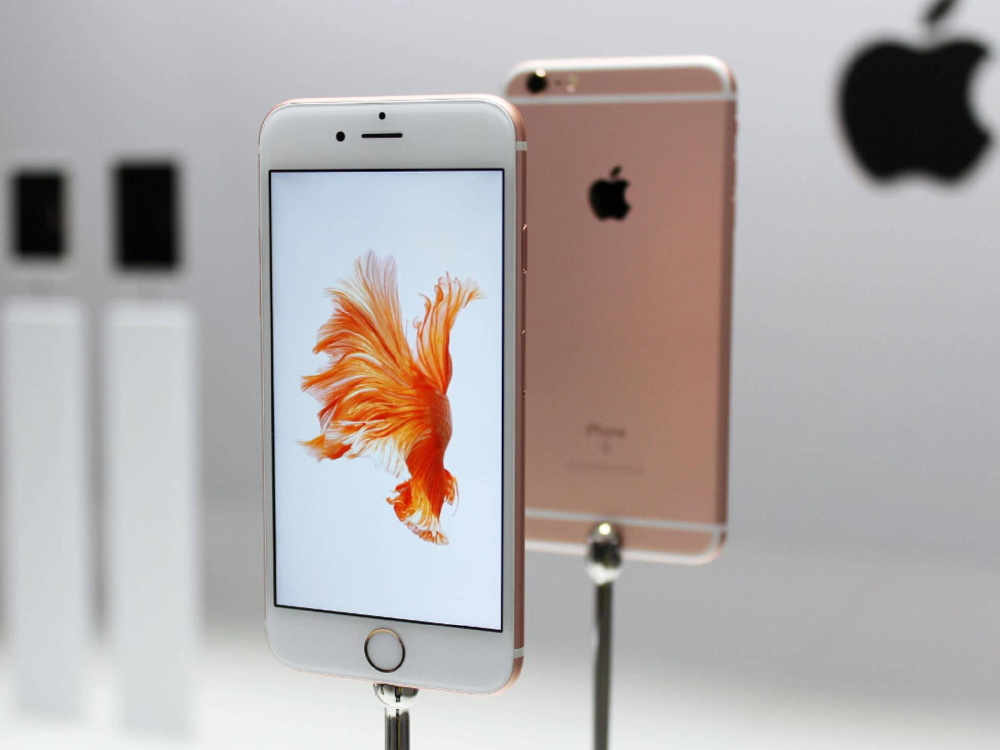 Wie das iPhone 6s soll es auch das iPhone 5se in Roségold zu kaufen geben.