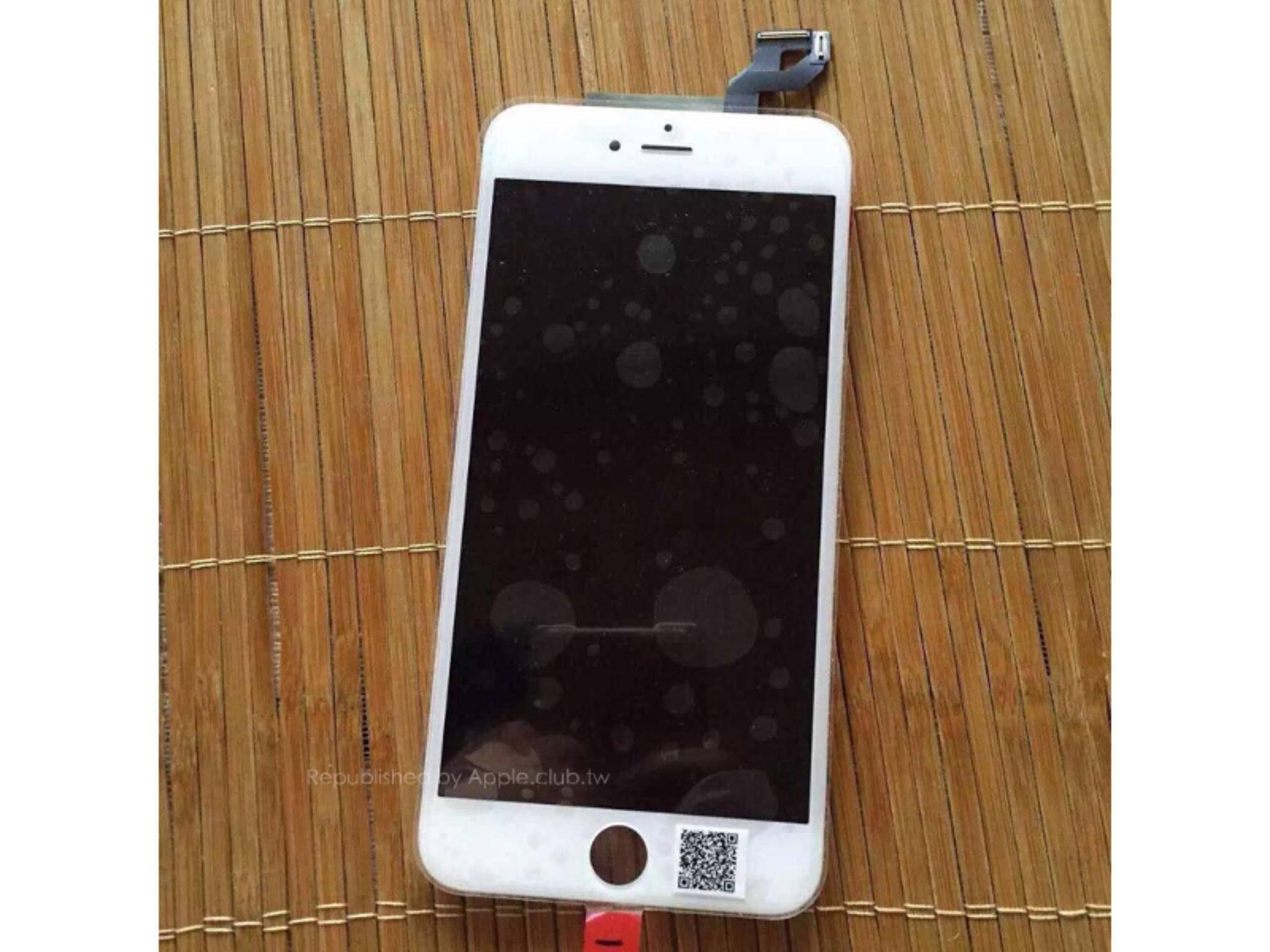 Display des iPhone 6s Plus.