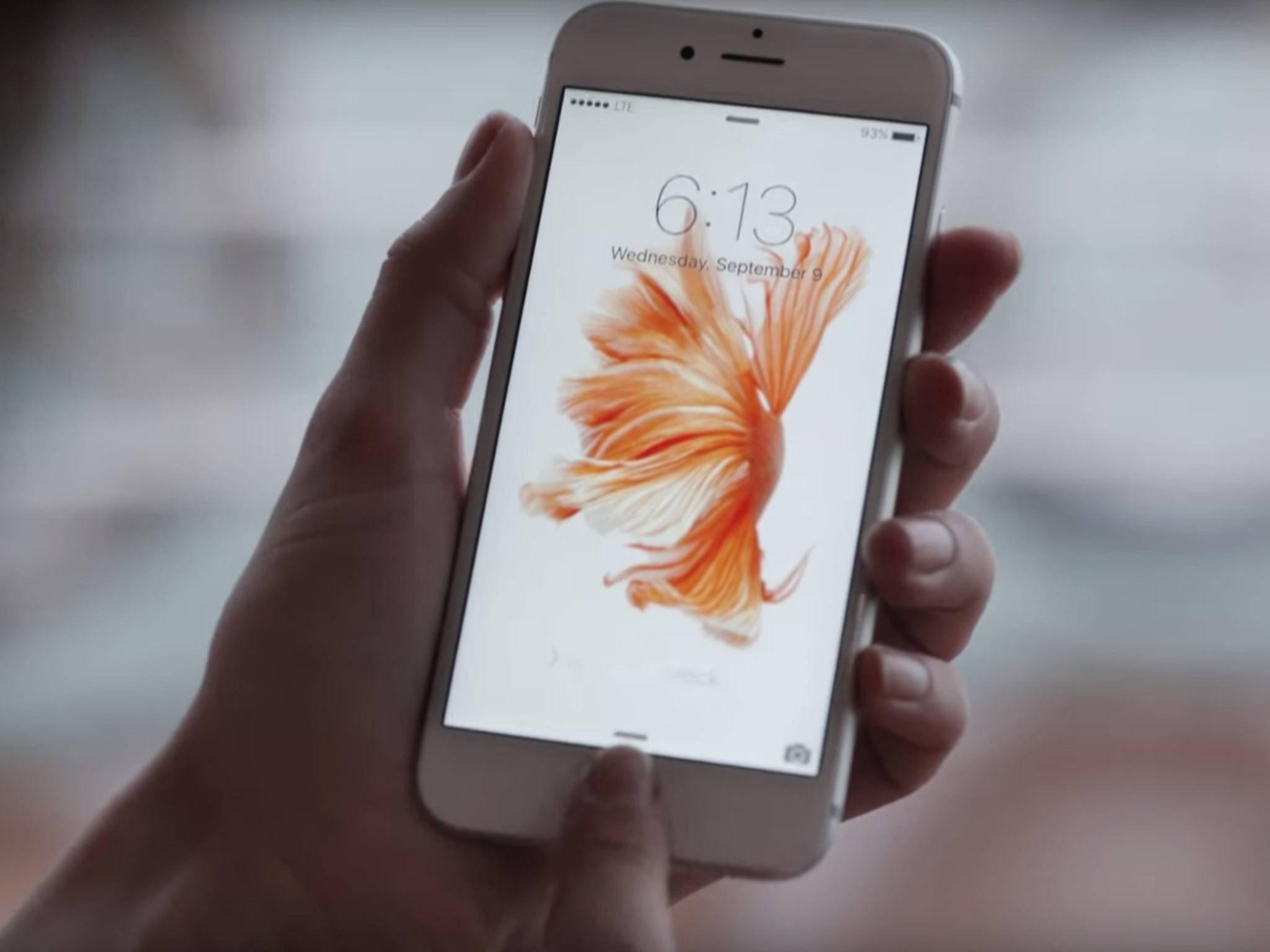 Mit einem einfachen Trick wird das iPhone 6s sofort wieder schneller.