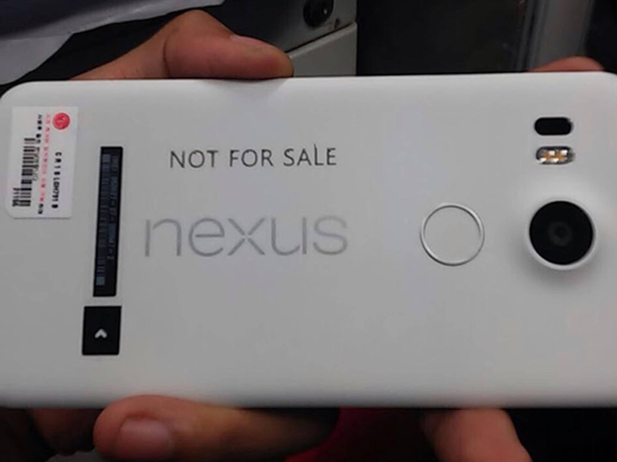 ... hier sieht man das Nexus 5X.