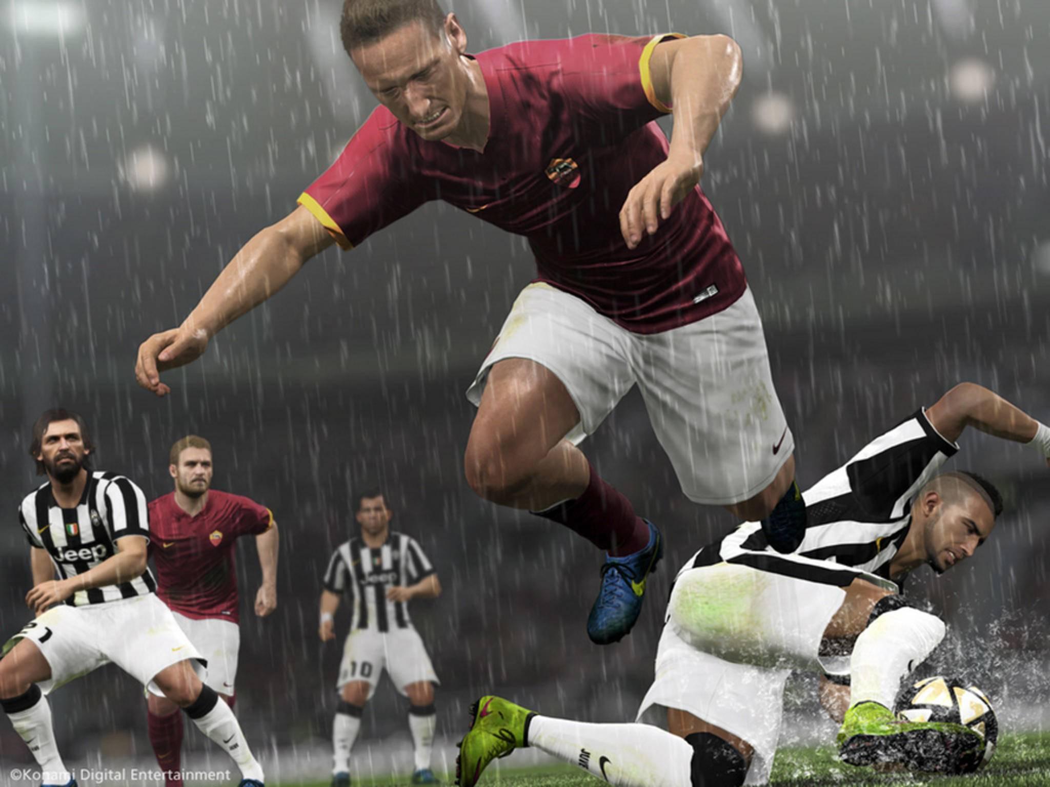 """Von """"Pro Evolution Soccer 2016"""" gibt's jetzt auf Steam eine Demo."""