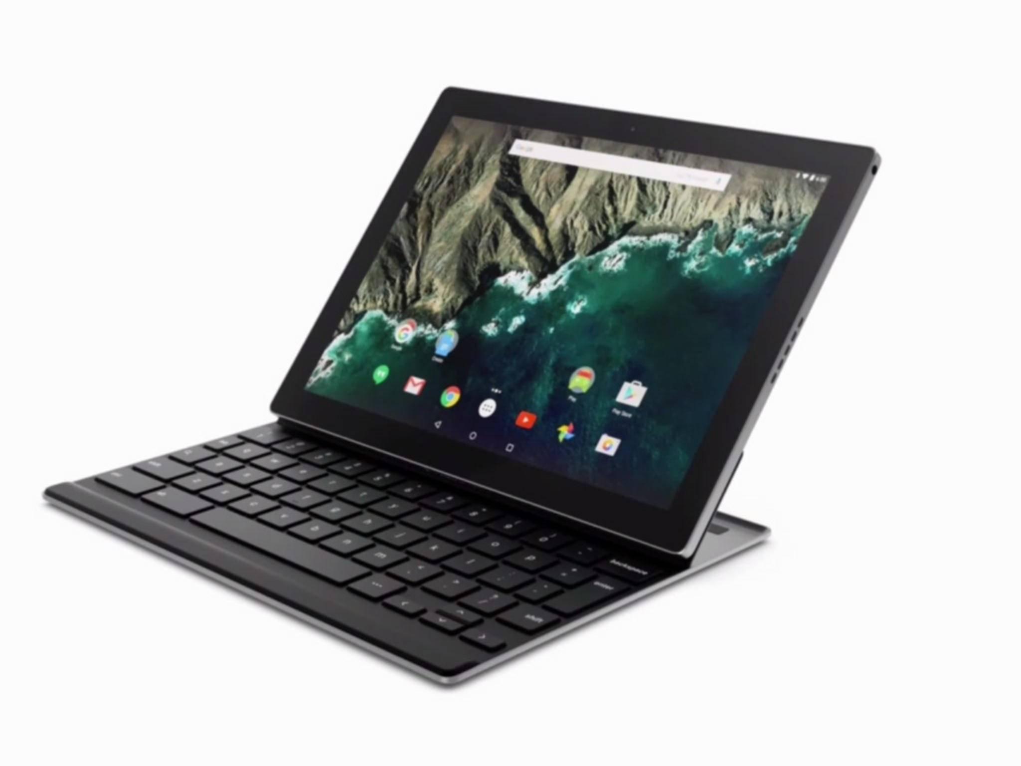 Ein Highlight desGoogle Pixel C ist das Tastatur-Dock.