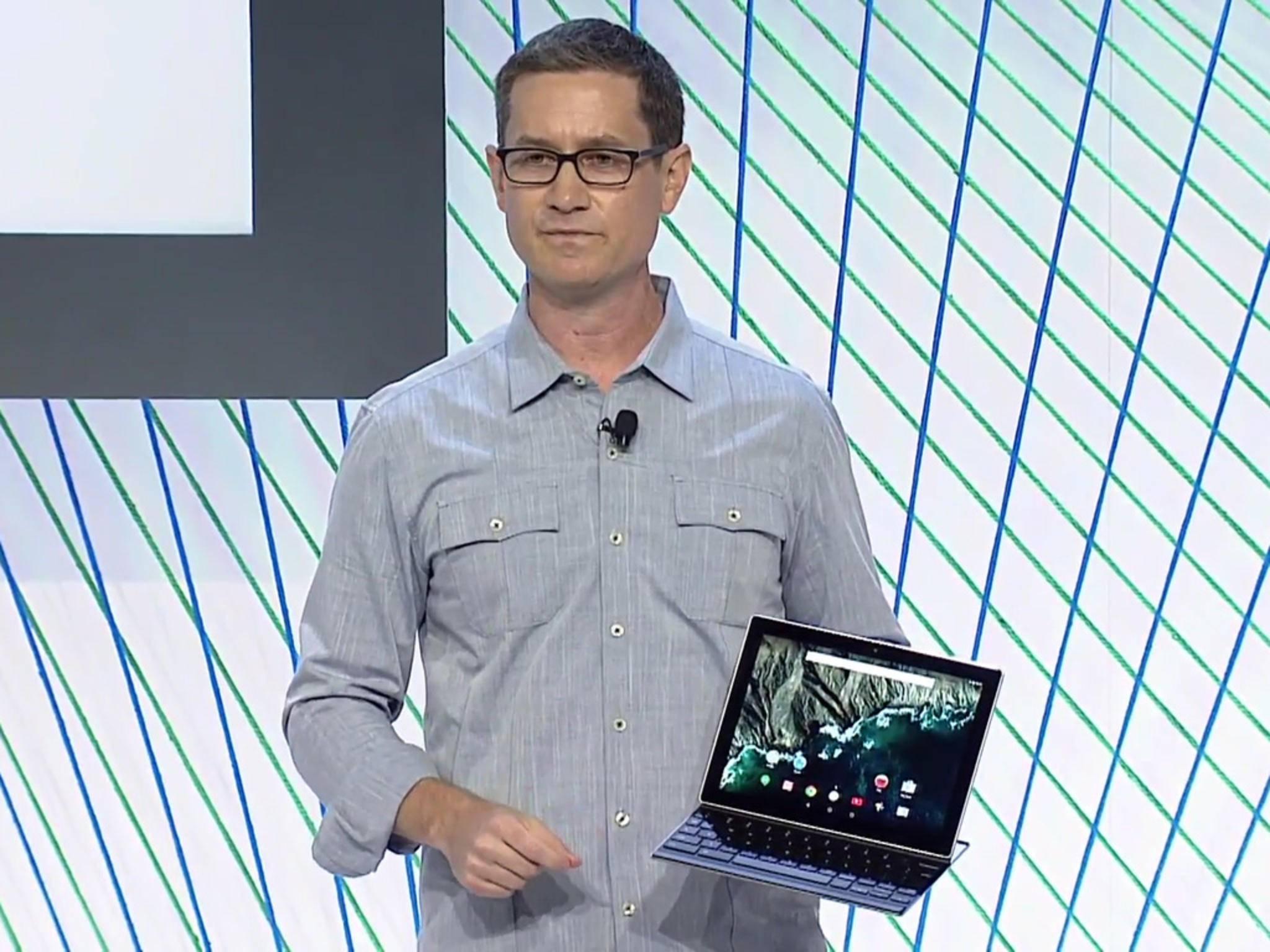 Ein weiteres Tablet mit Laptop-Ambitionen: das Pixel C von Google.