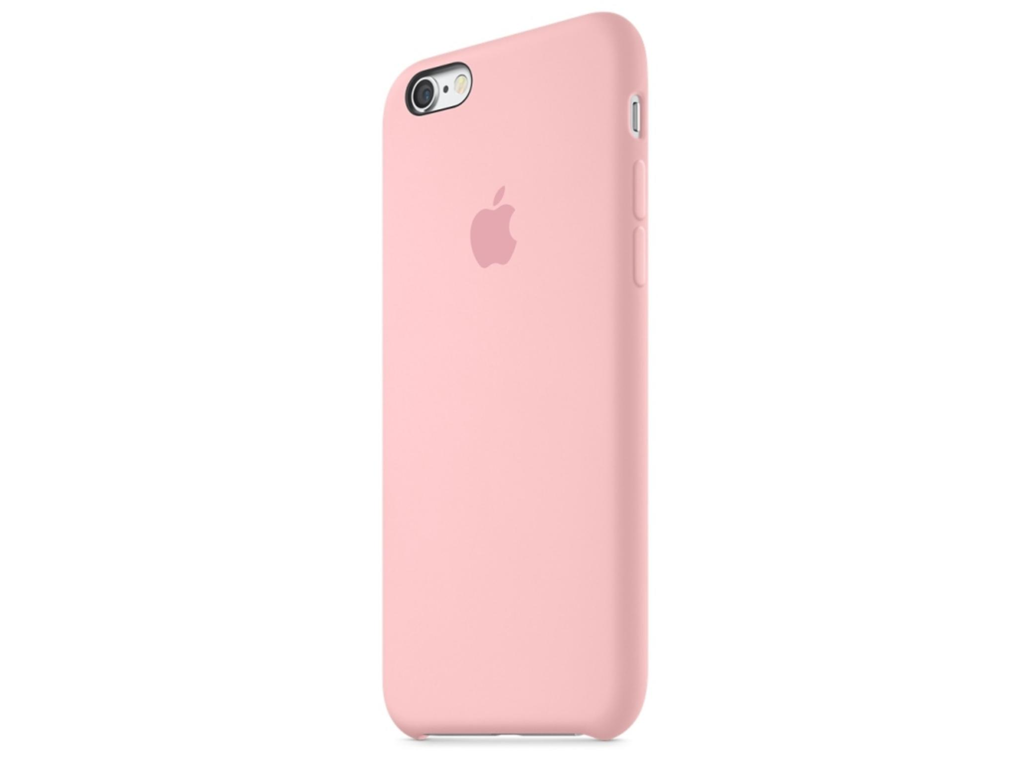 Mit dem rosanen Silikon Case soll wohl die Damenwelt angesprochen werden.