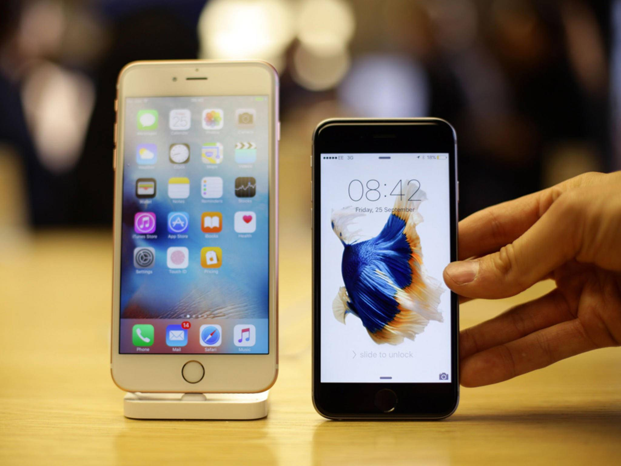 Das iPhone 6s gibt es seit dem 25. September zu kaufen.