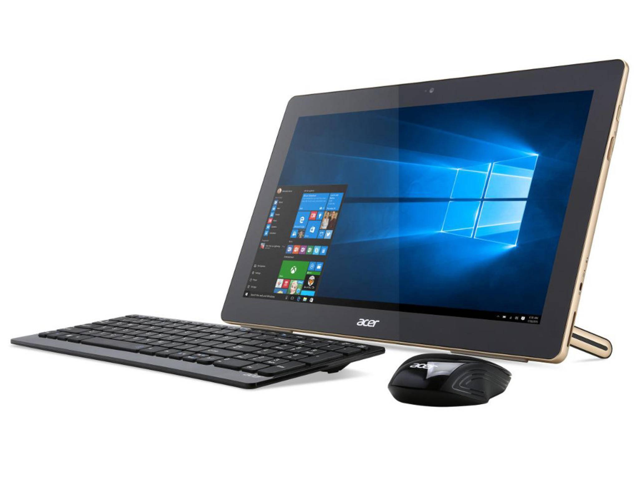 Für 599 Euro bekommt man beim Aspire Z3 einen Arbeits-PC...