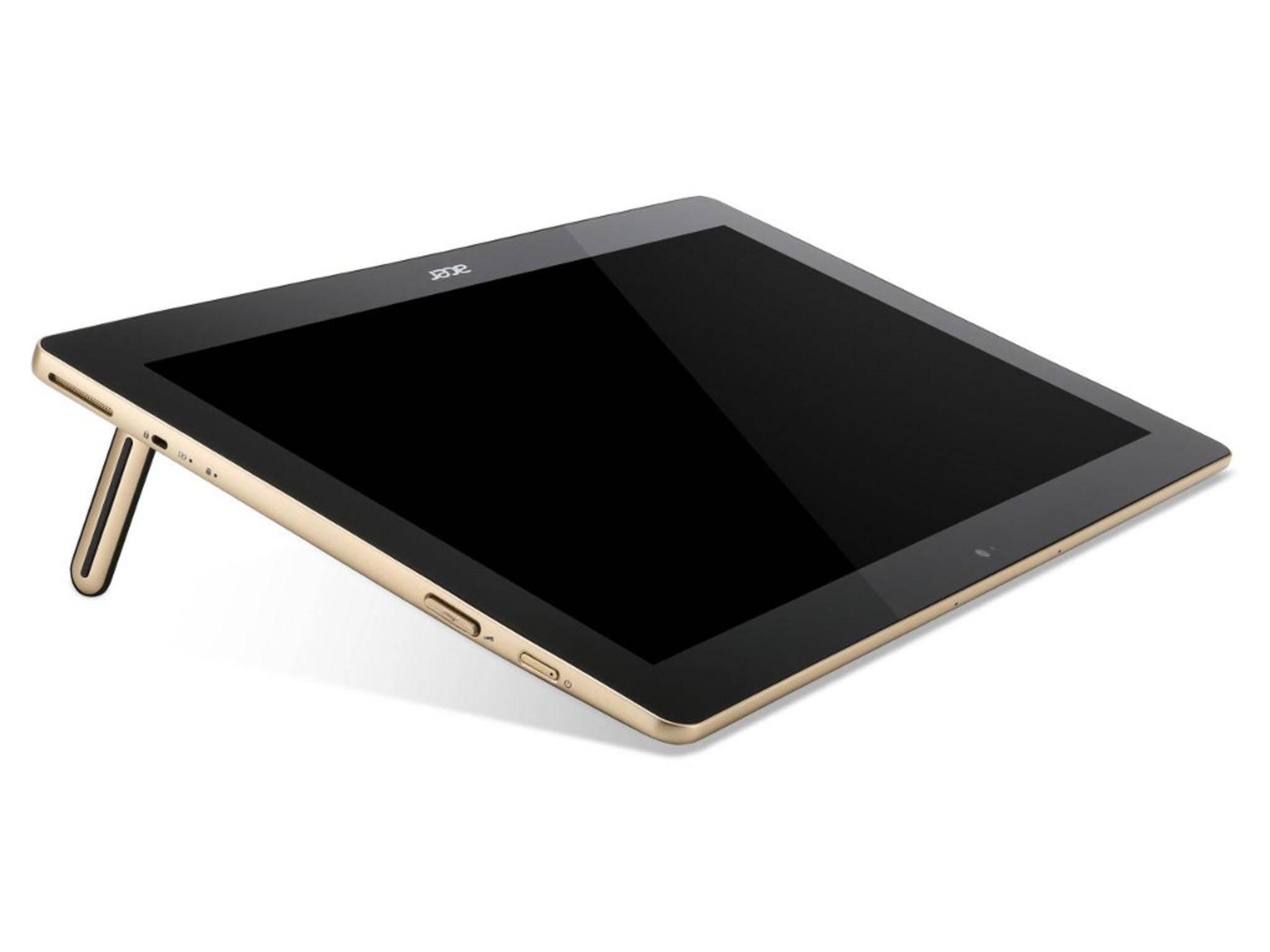 ...und ein Tablet mit Stylus-Support.