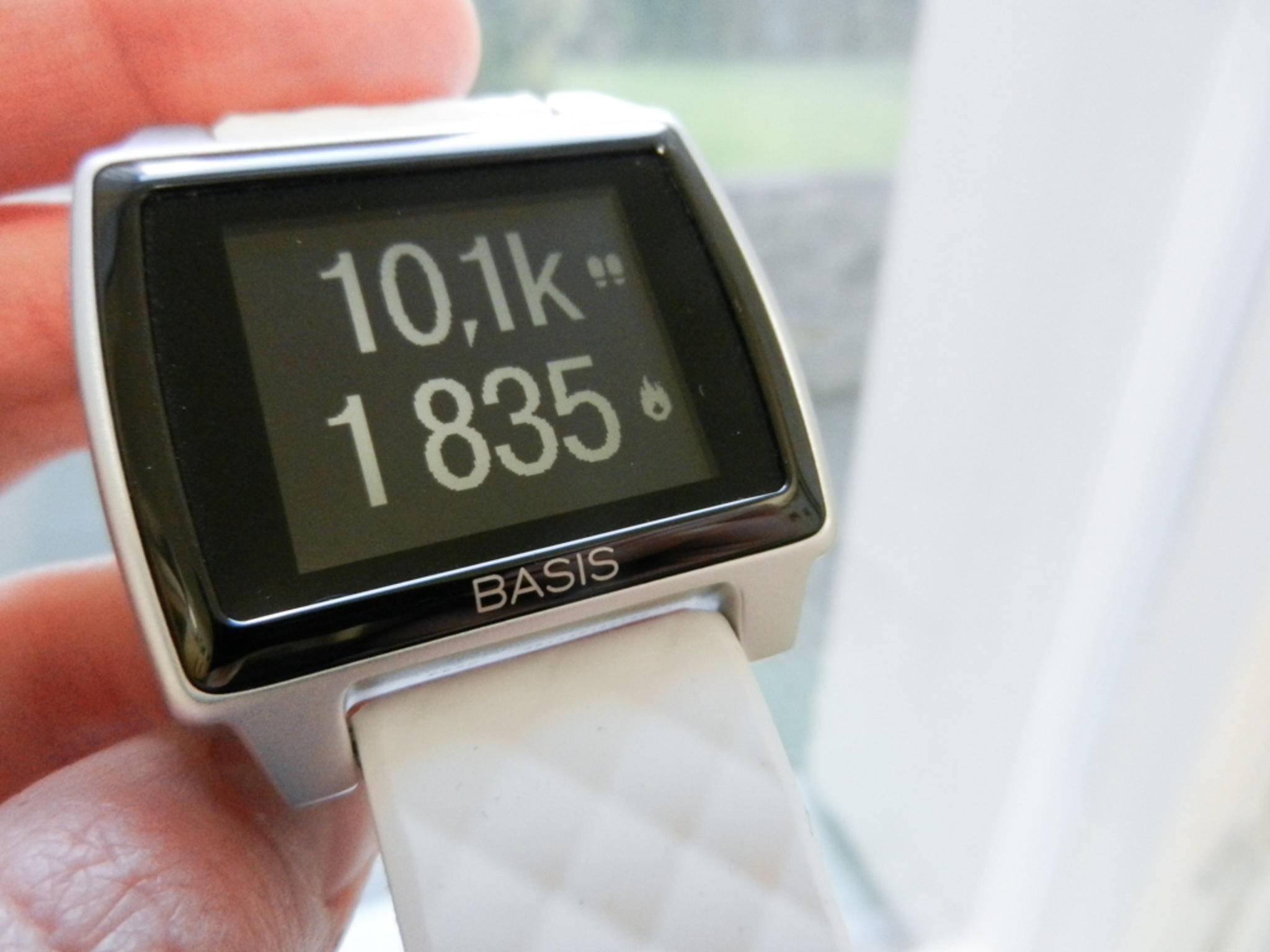Am Ende des Tags standen sogar mehr als 10.000 Schritte auf der Uhr.