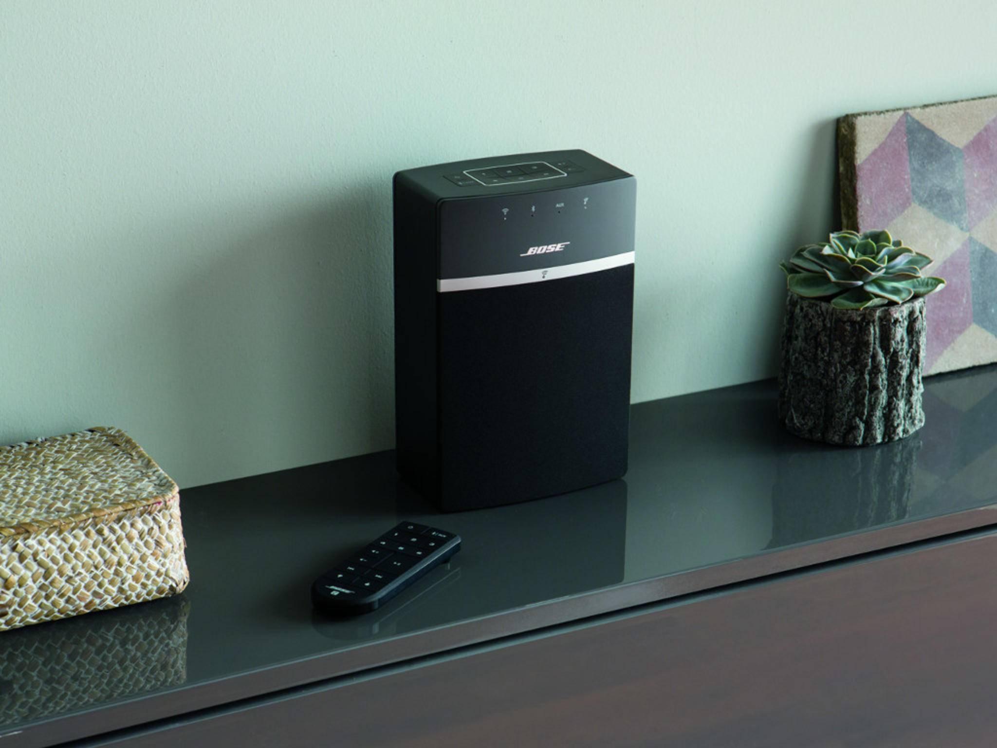 Der neue SoundTouch 10 von Bose unterstützt Bluetooth und WLAN.