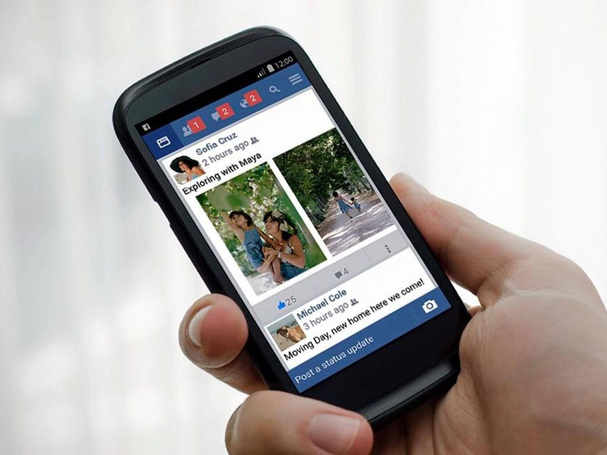 Facebook unterstützt bald auch GIFs in Kommentaren.
