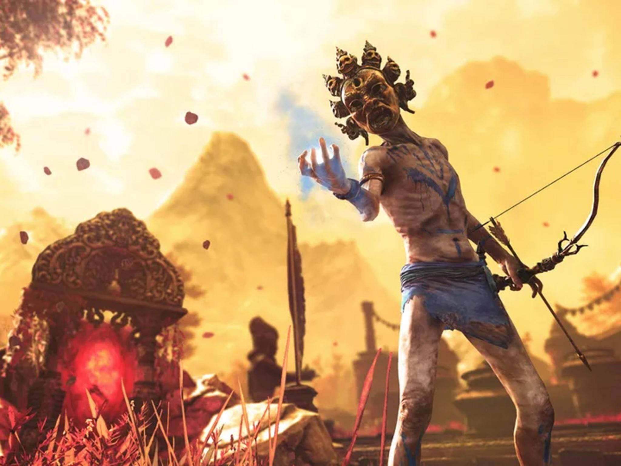 """In """"Far Cry Primal"""" geht's anscheinend um urzeitliche Jäger."""