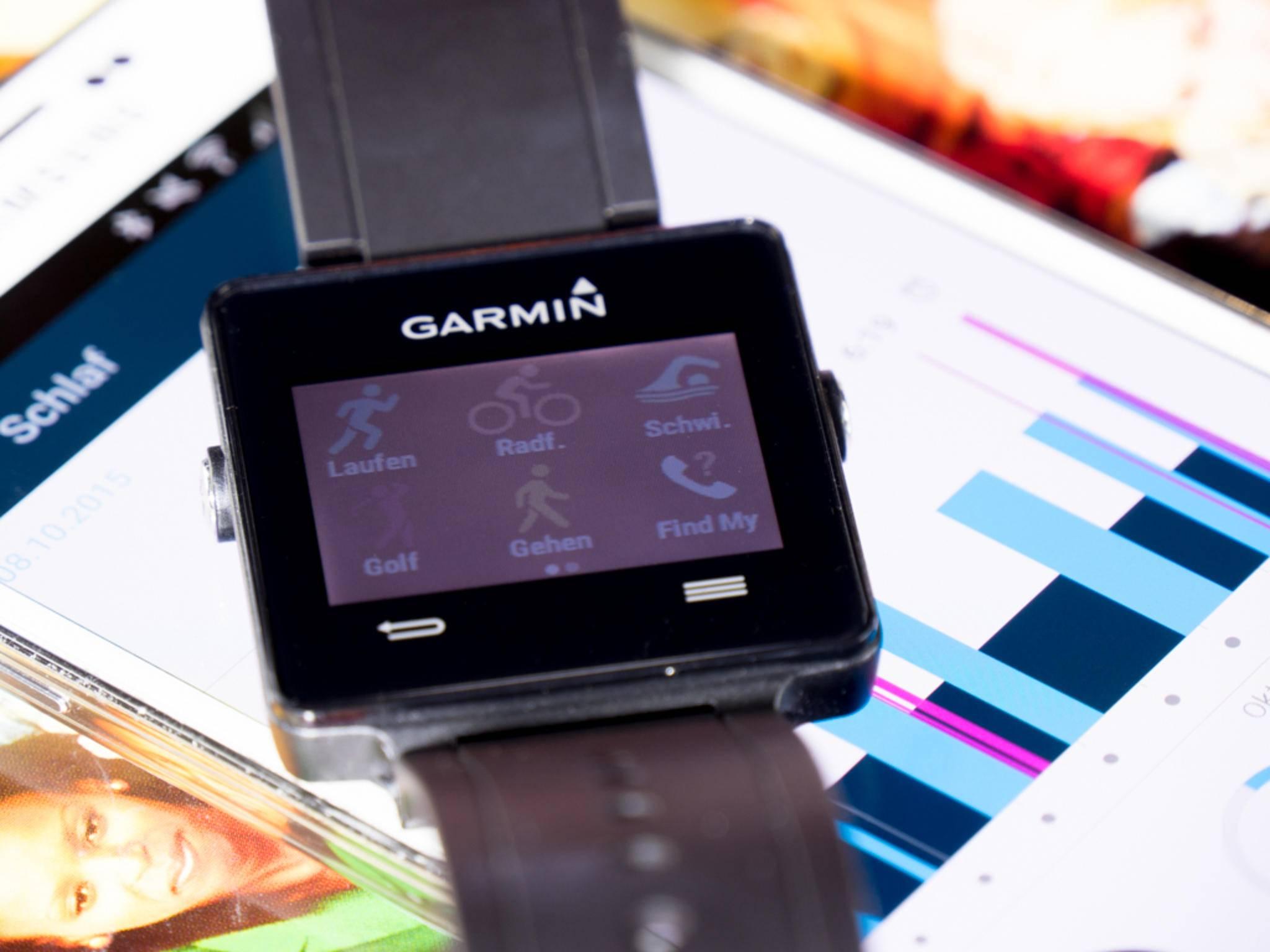 Garmin scheint Gefallen am Design alter Casio-Modelle zu finden.