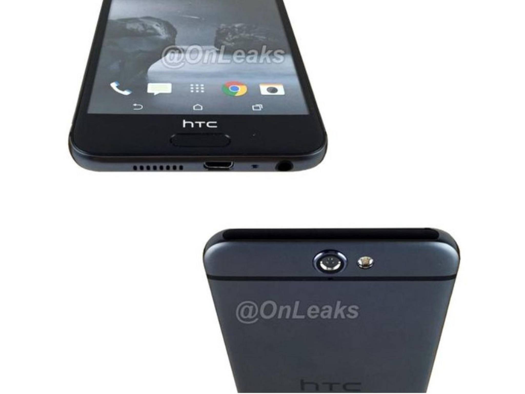 So soll angeblich das HTC A9 aussehen.