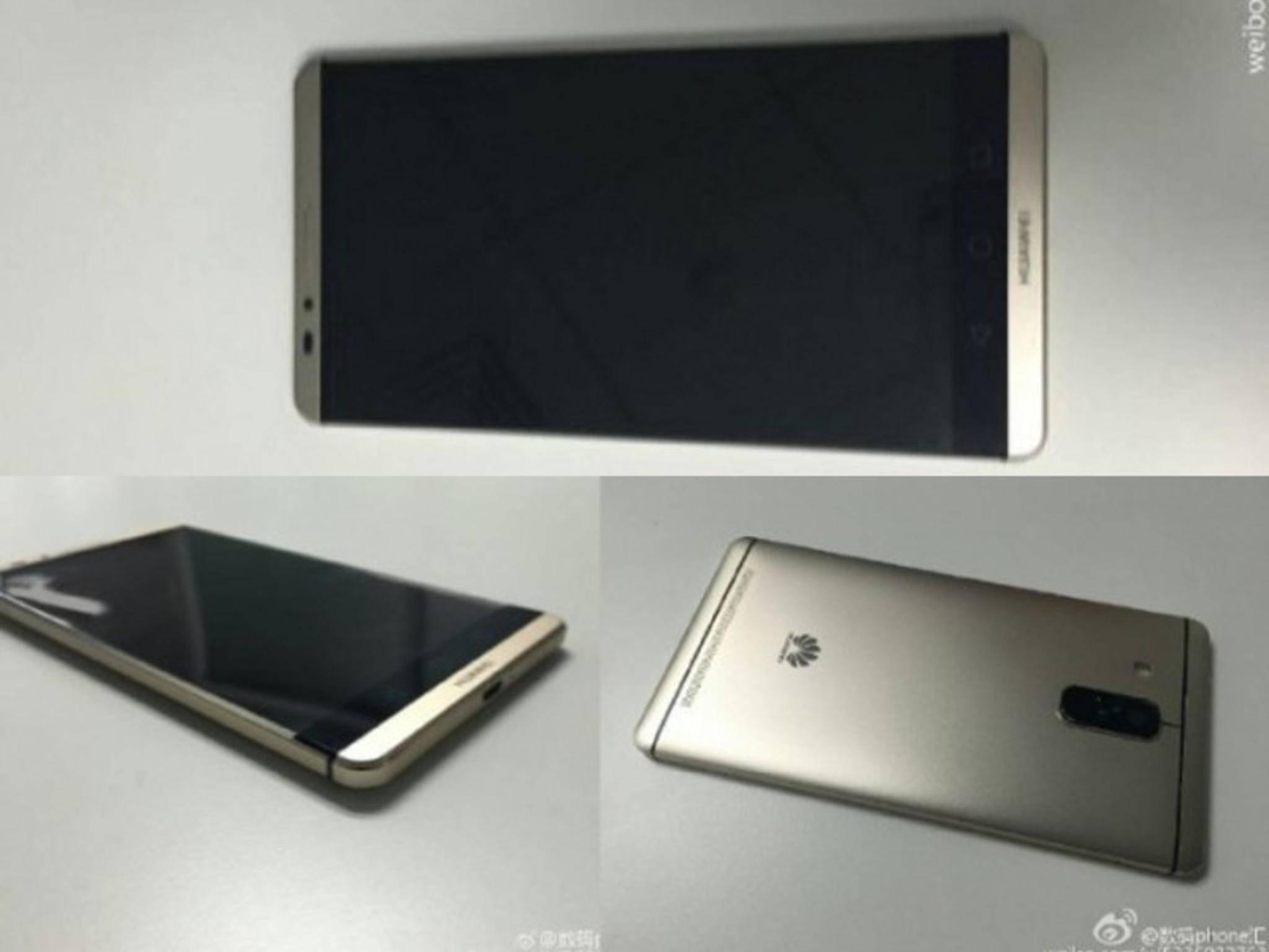 Erste Bilder zeigen angeblich das Huawei Mate 8.