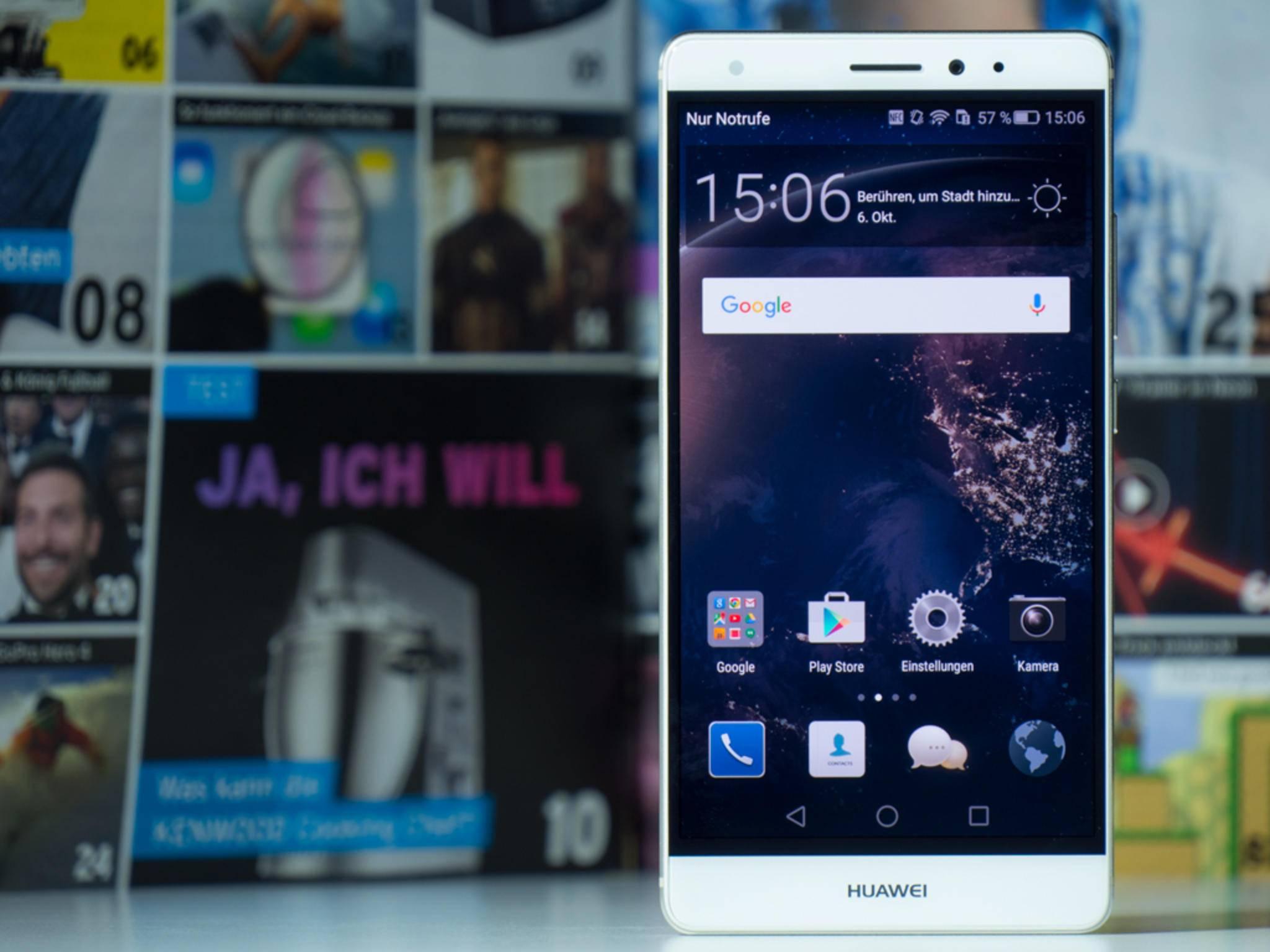 Das Mate S von Huawei überzeugte durch eine edle Verarbeitung.