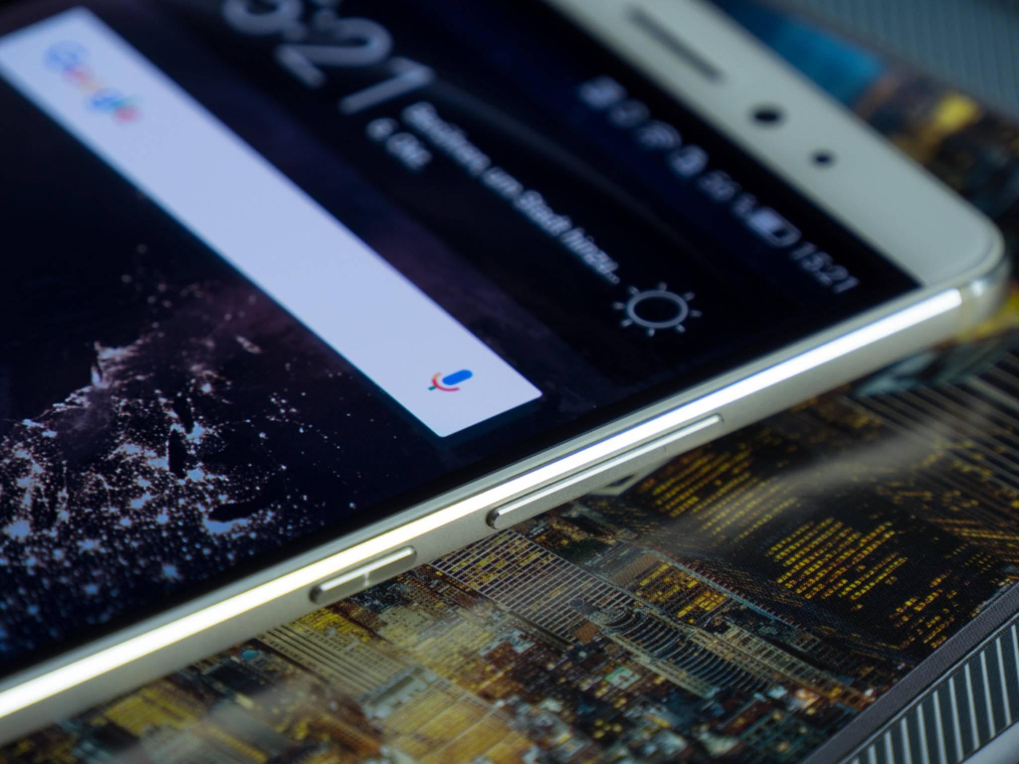 Das Huawei Mate S mit Force Touch ist ab Januar erhältlich.
