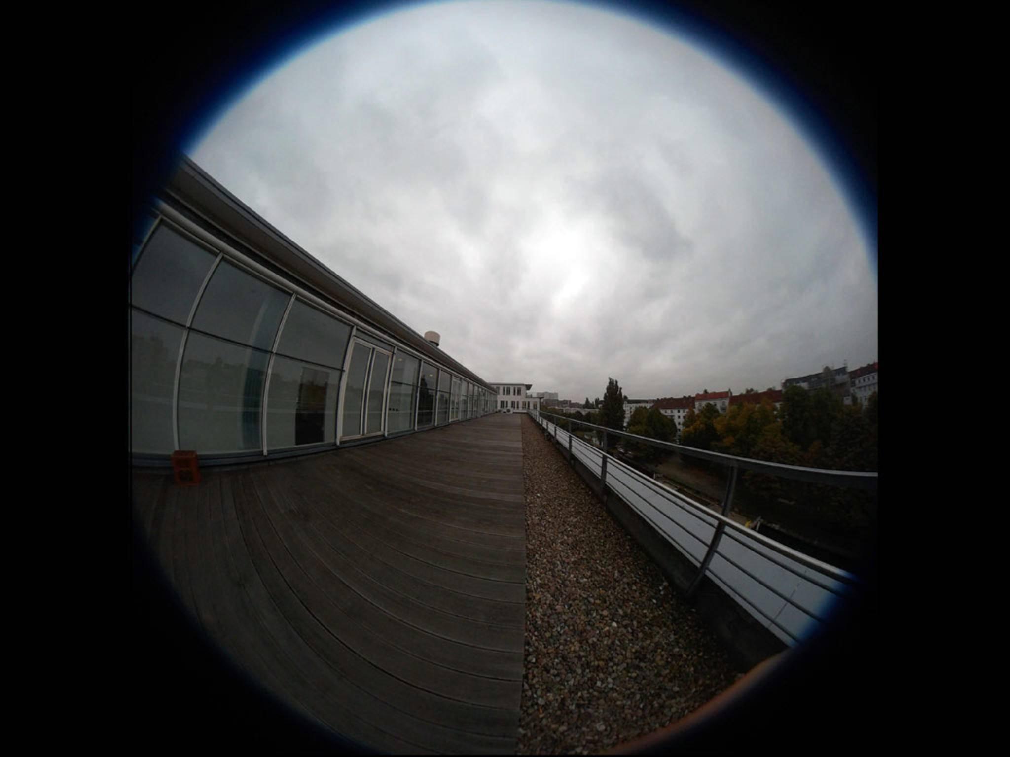 Eine Aufnahme der Kodak Pixpro SP360 Action-Cam.