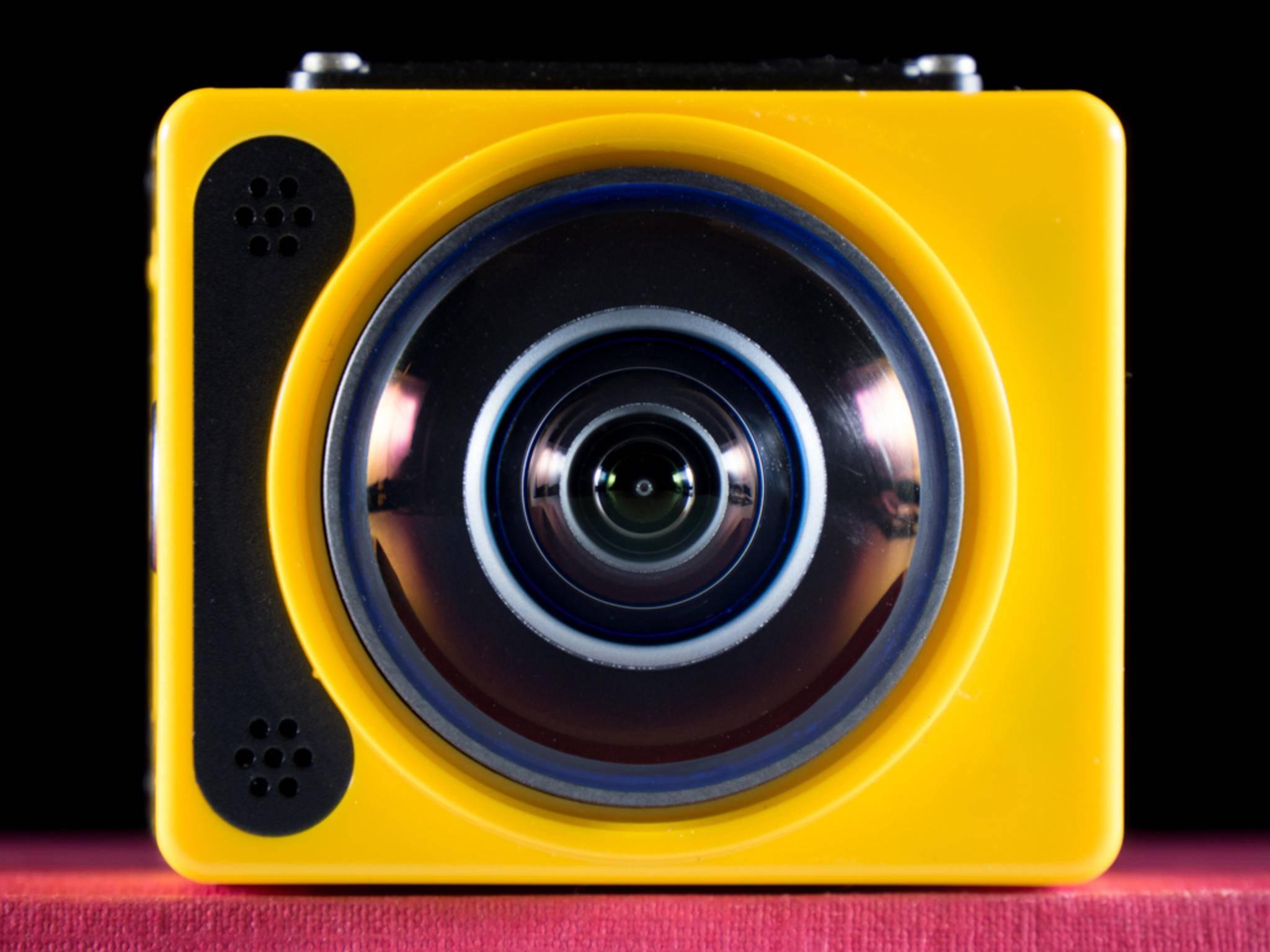 Auf den ersten Blick fällt das typische Kodak-Design ins Auge.