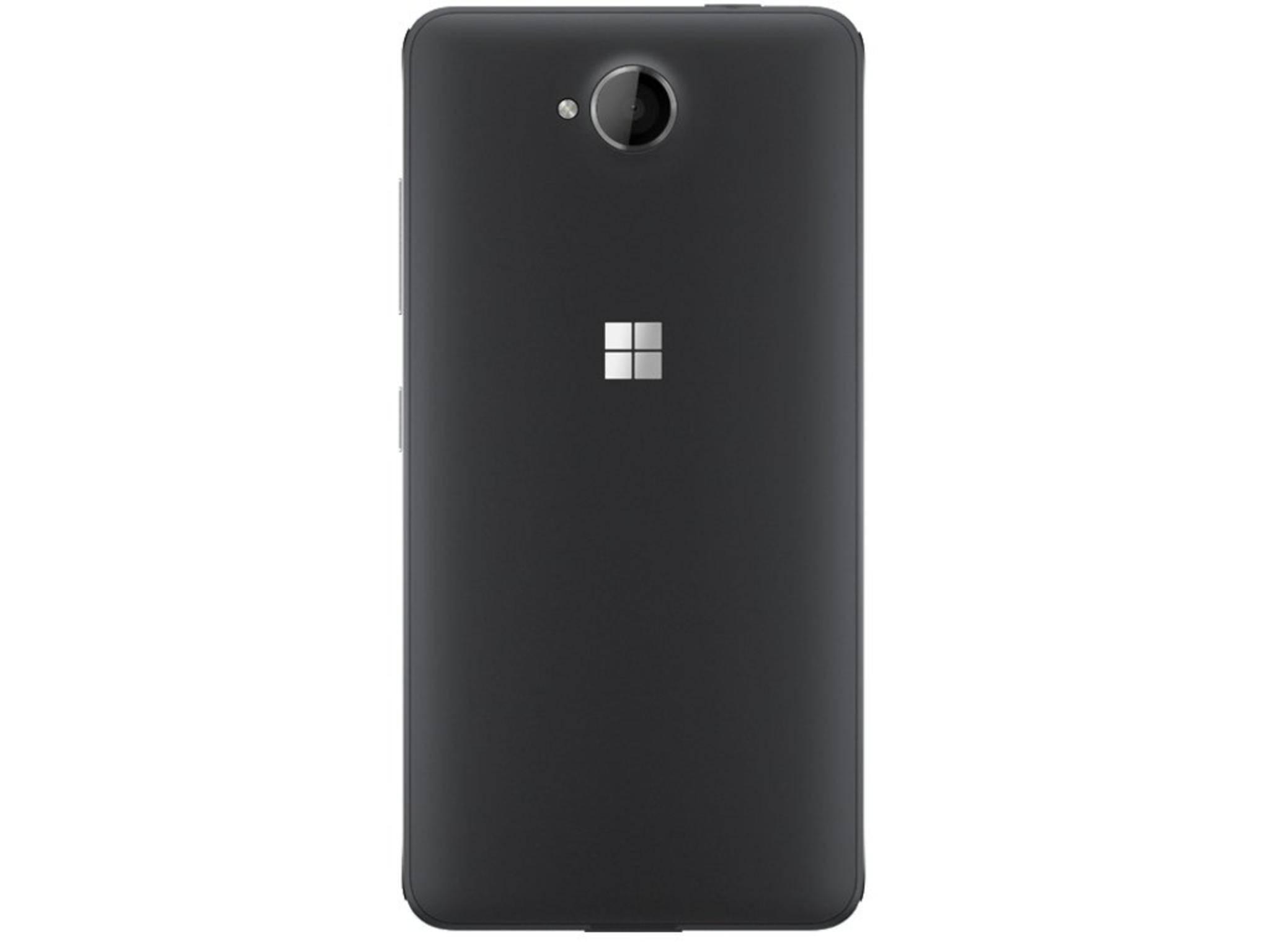 So könnte das Lumia 650 von hinten aussehen.