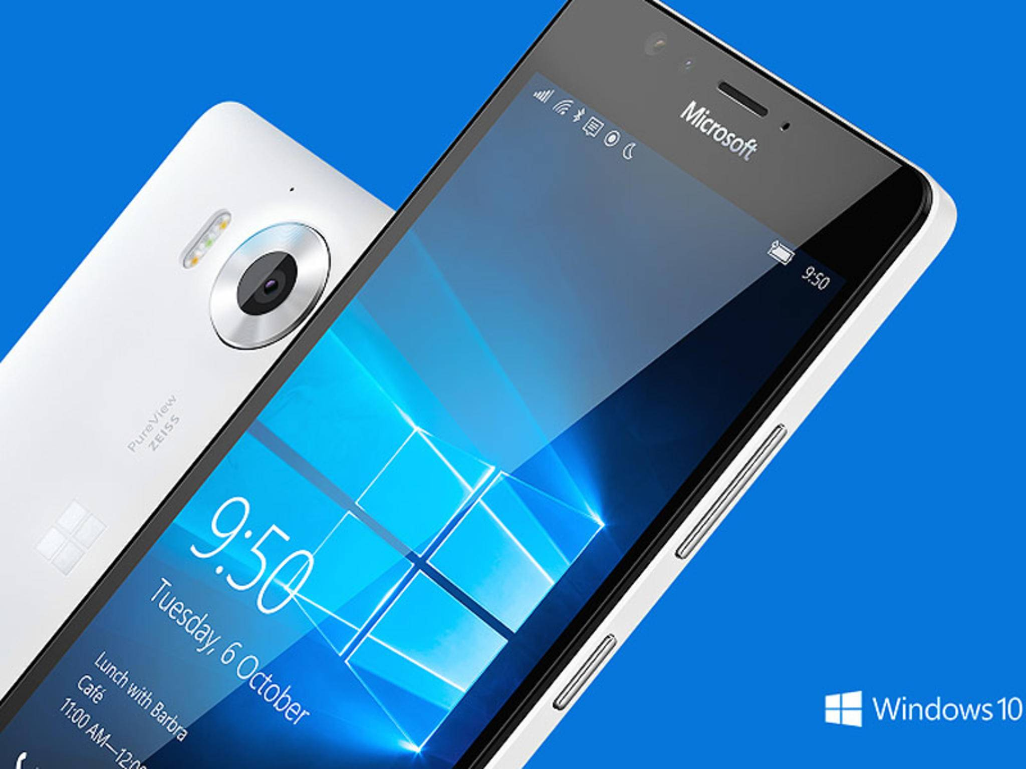 Das Lumia 950 ist das neue Flaggschiff für Windows 10 Mobile.