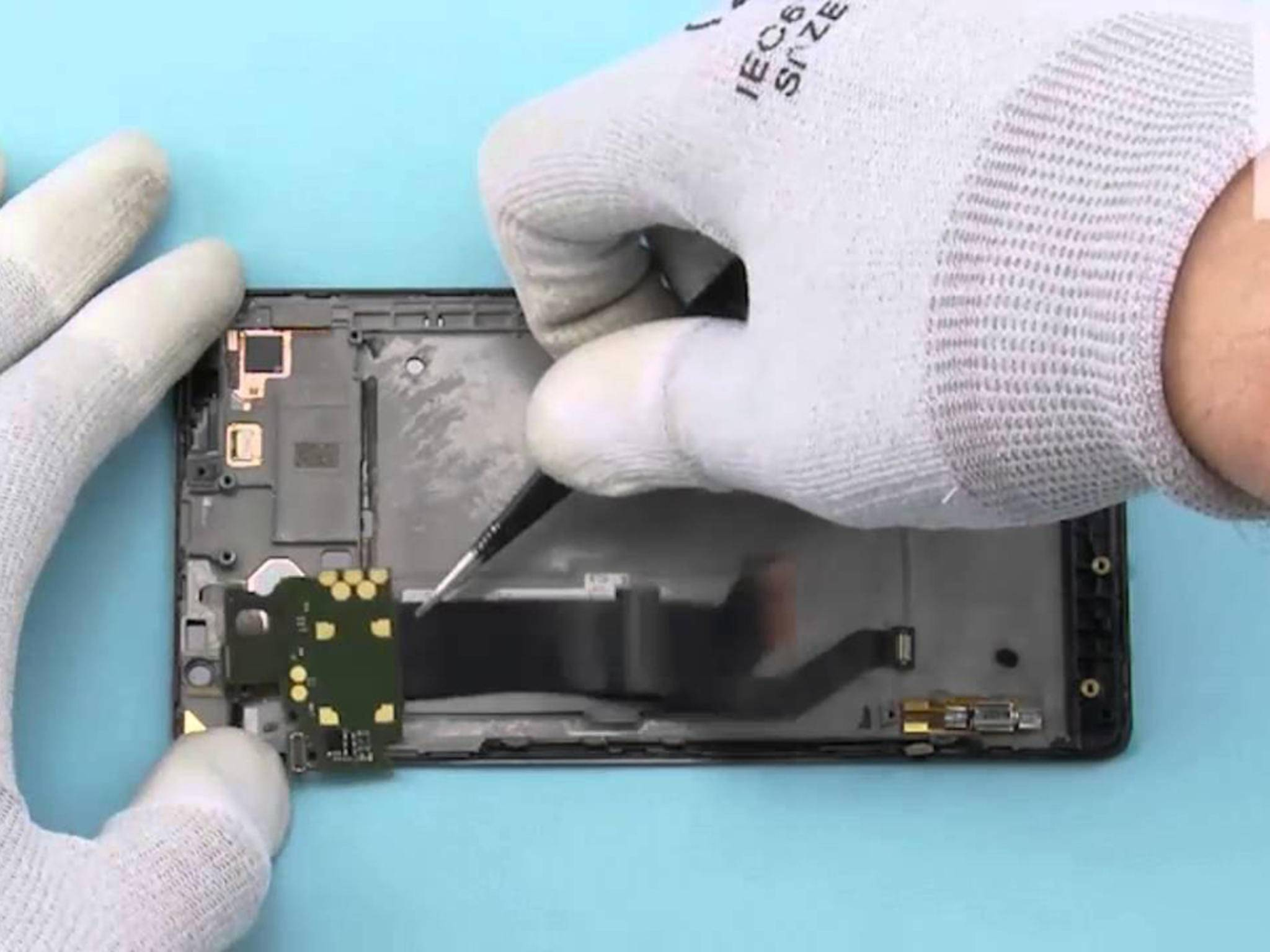 Lumia 950 XL im Teardown