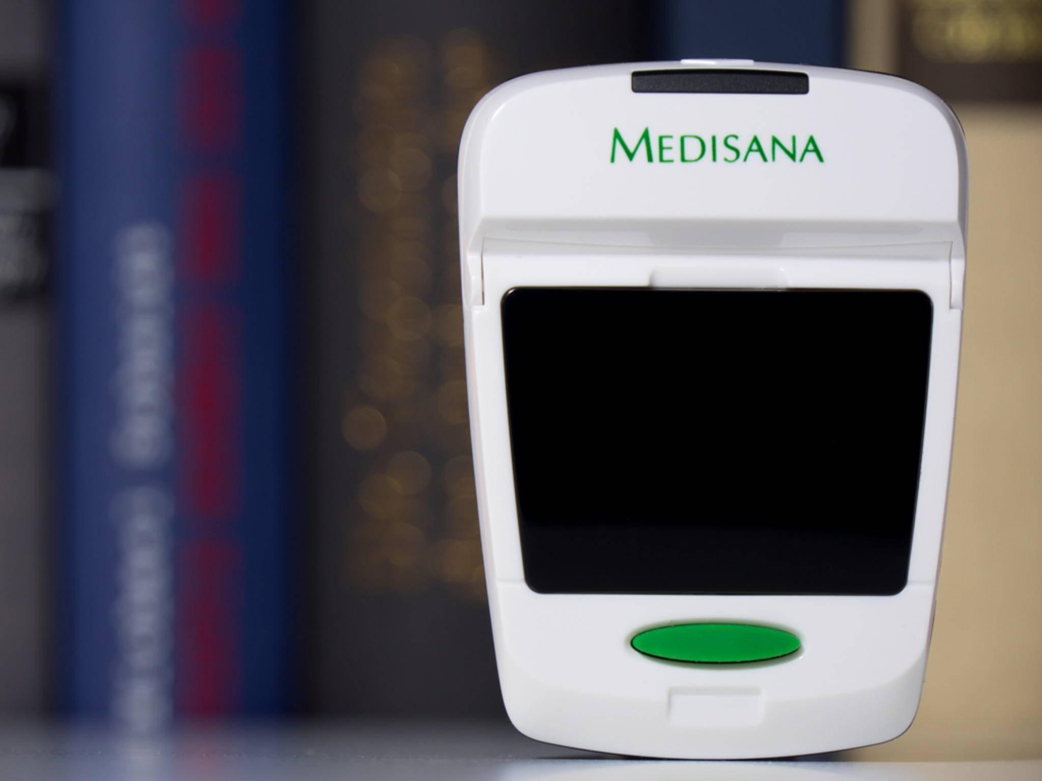 Das Medisana PM 150 connect hat nur einen einzigen Button.