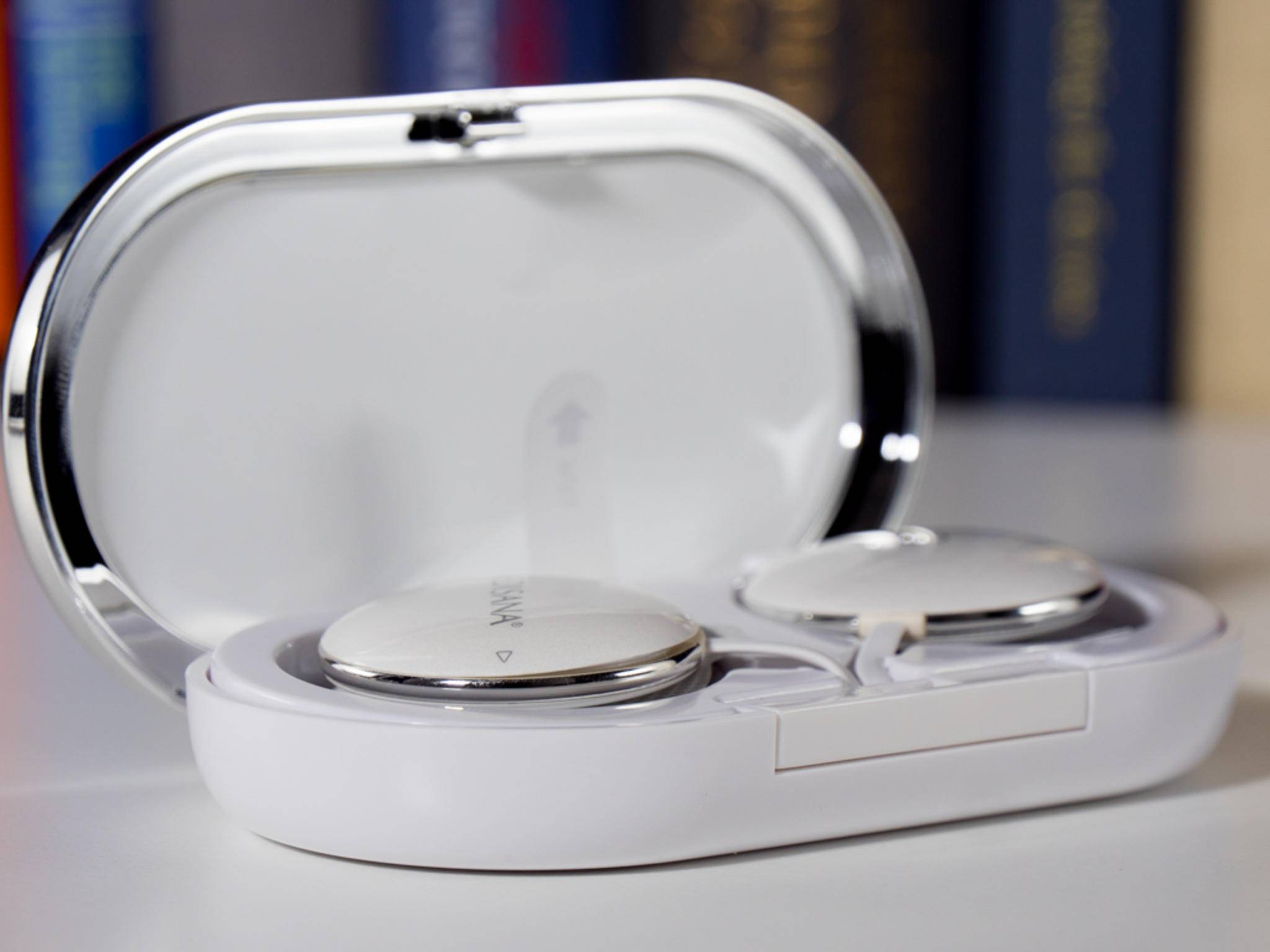 Der Bodytoner wird per Bluetooth mit dem Smartphone verbunden.