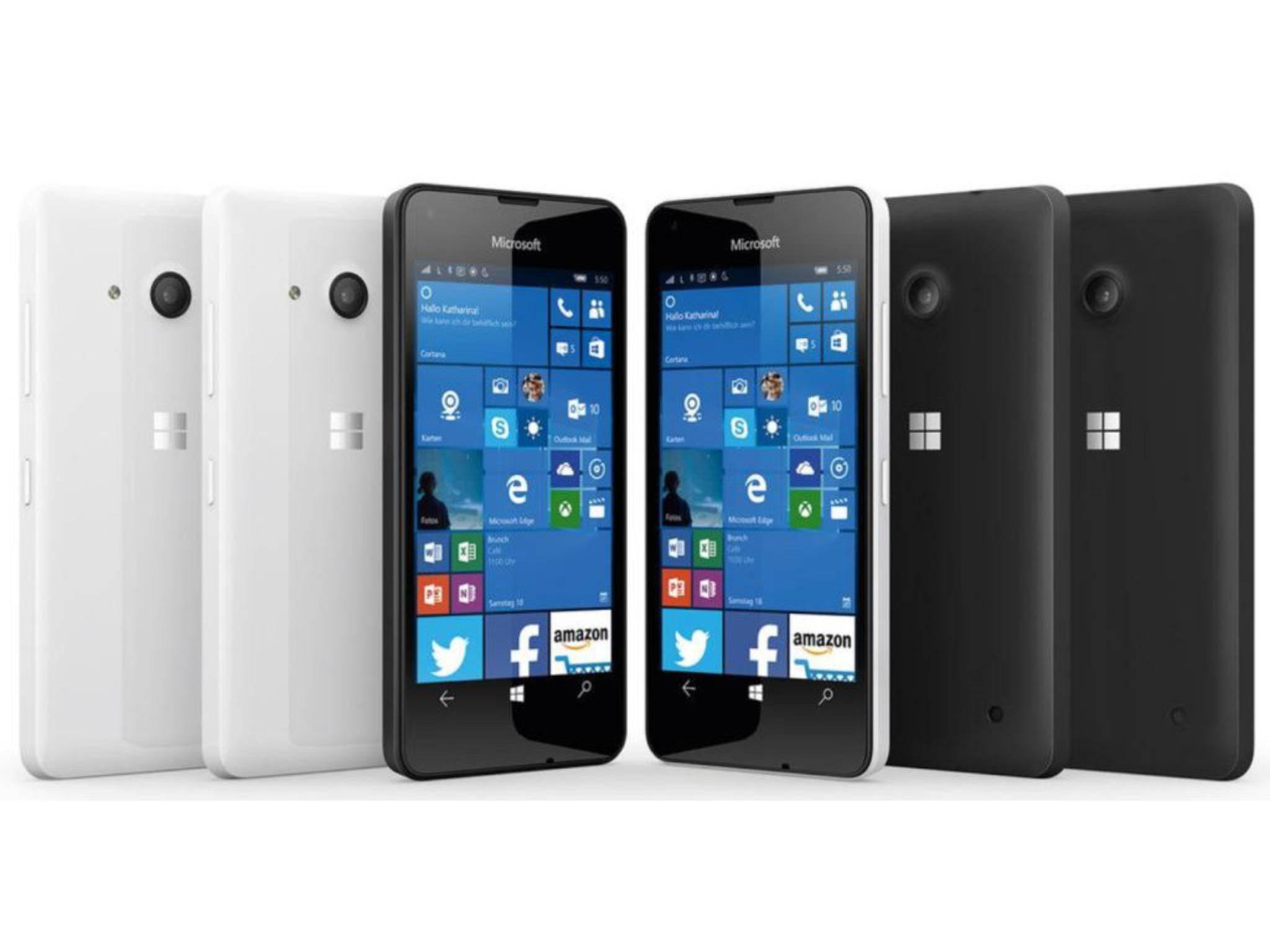 Auch an Bilder des Microsoft Lumia 550 ist Evan Blass gelangt.