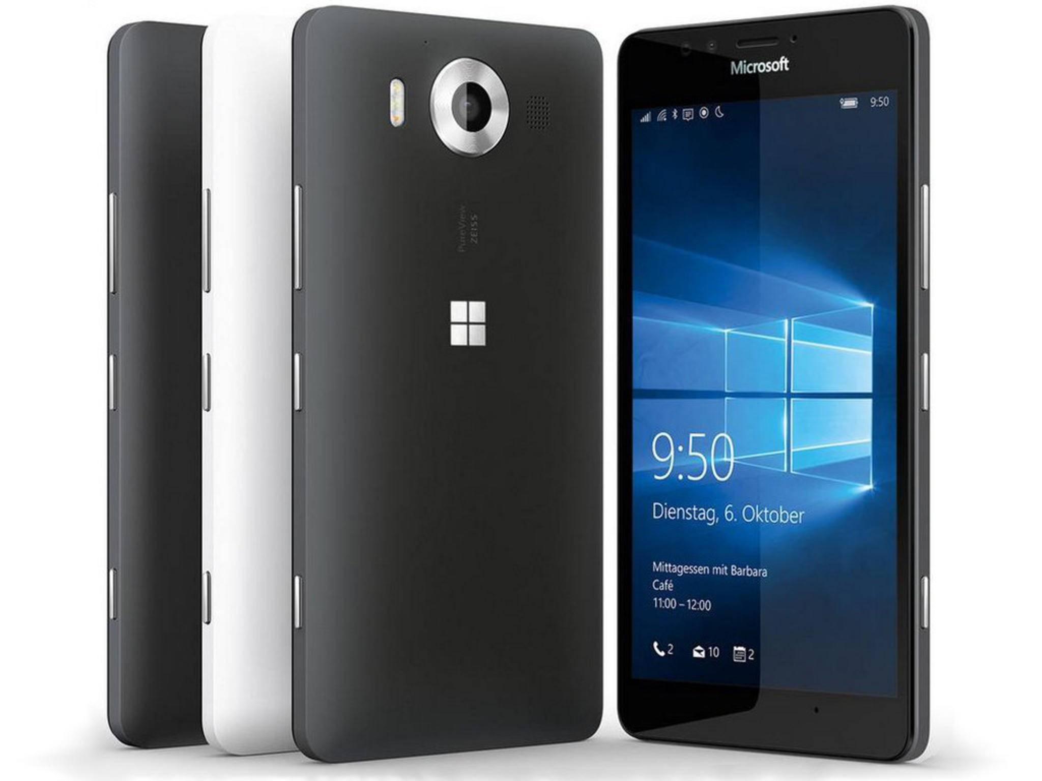 Microsoft Lumia 950: Microsoft leakte die Bilder selber.