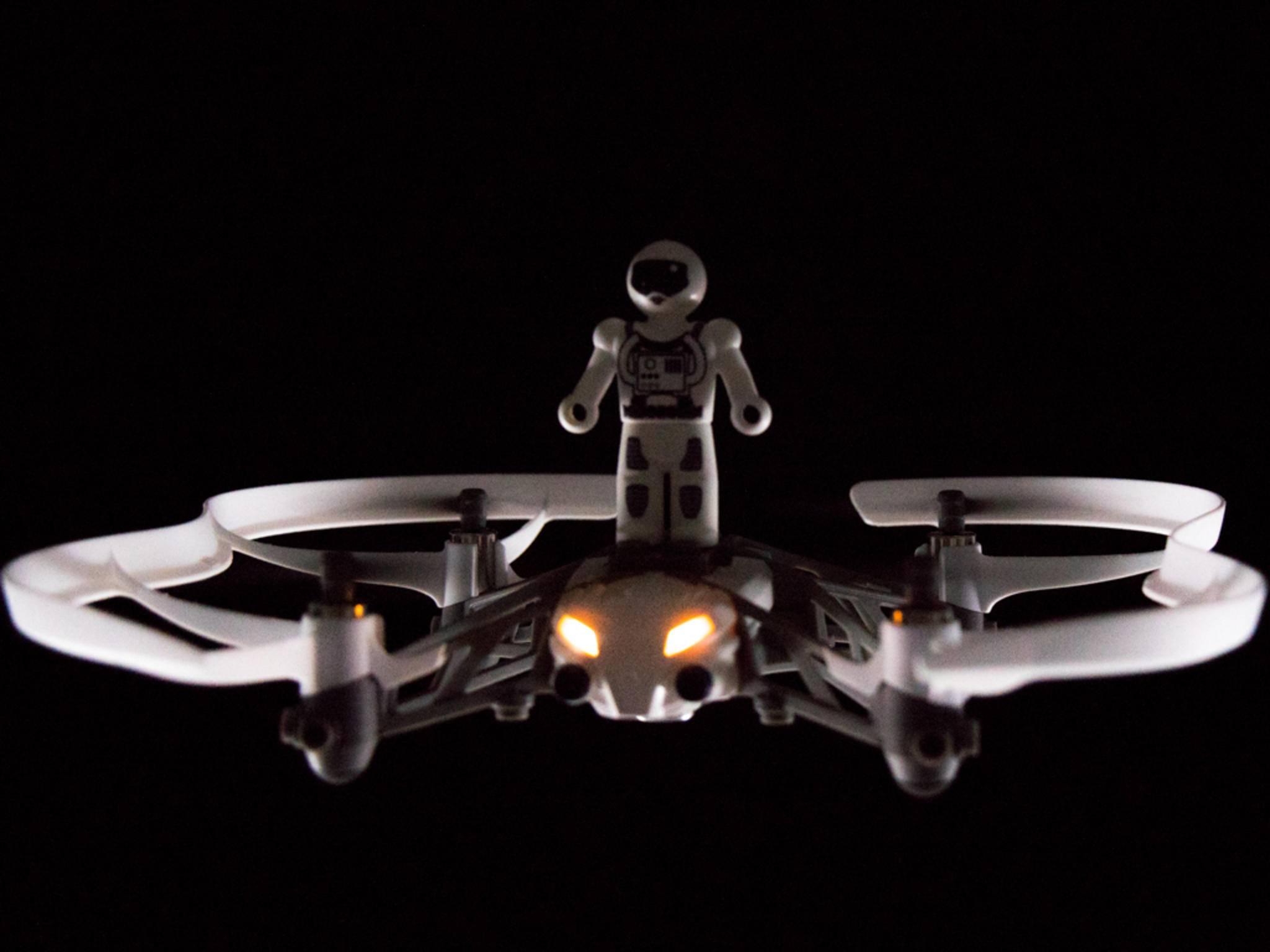 Die Drohne Parrot Airborne Cargo ist gut für Einsteiger geeignet.