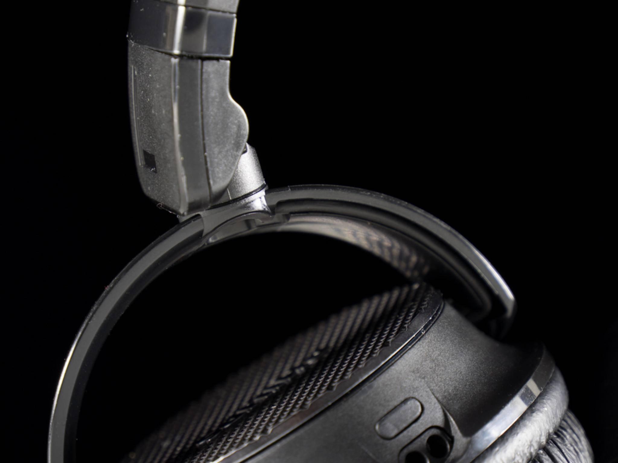 Die Verarbeitung der Kopfhörer macht ebenfalls einen guten Eindruck.