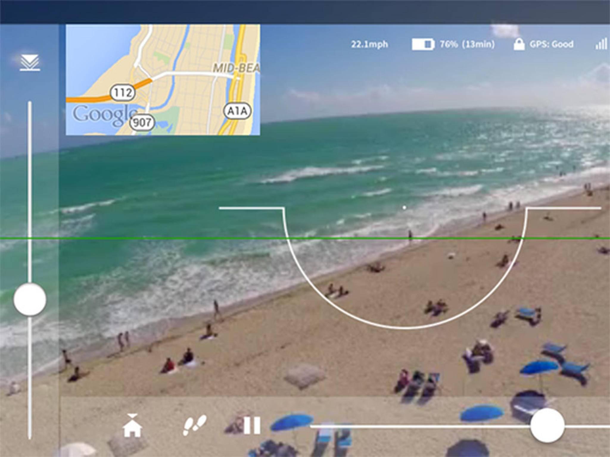 Dank Controller API können Entwickler ihre Apps kompatibel mit der Drohne machen.