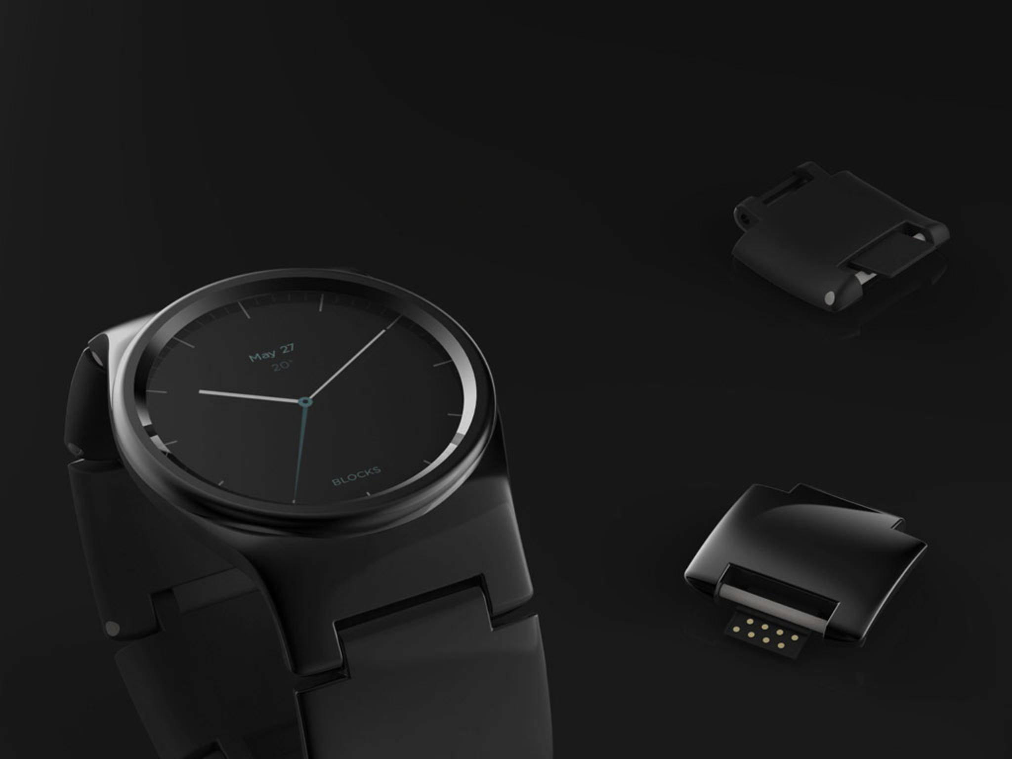 Die Smartwatch Blocks geht neue Wege und setzt auf Module.