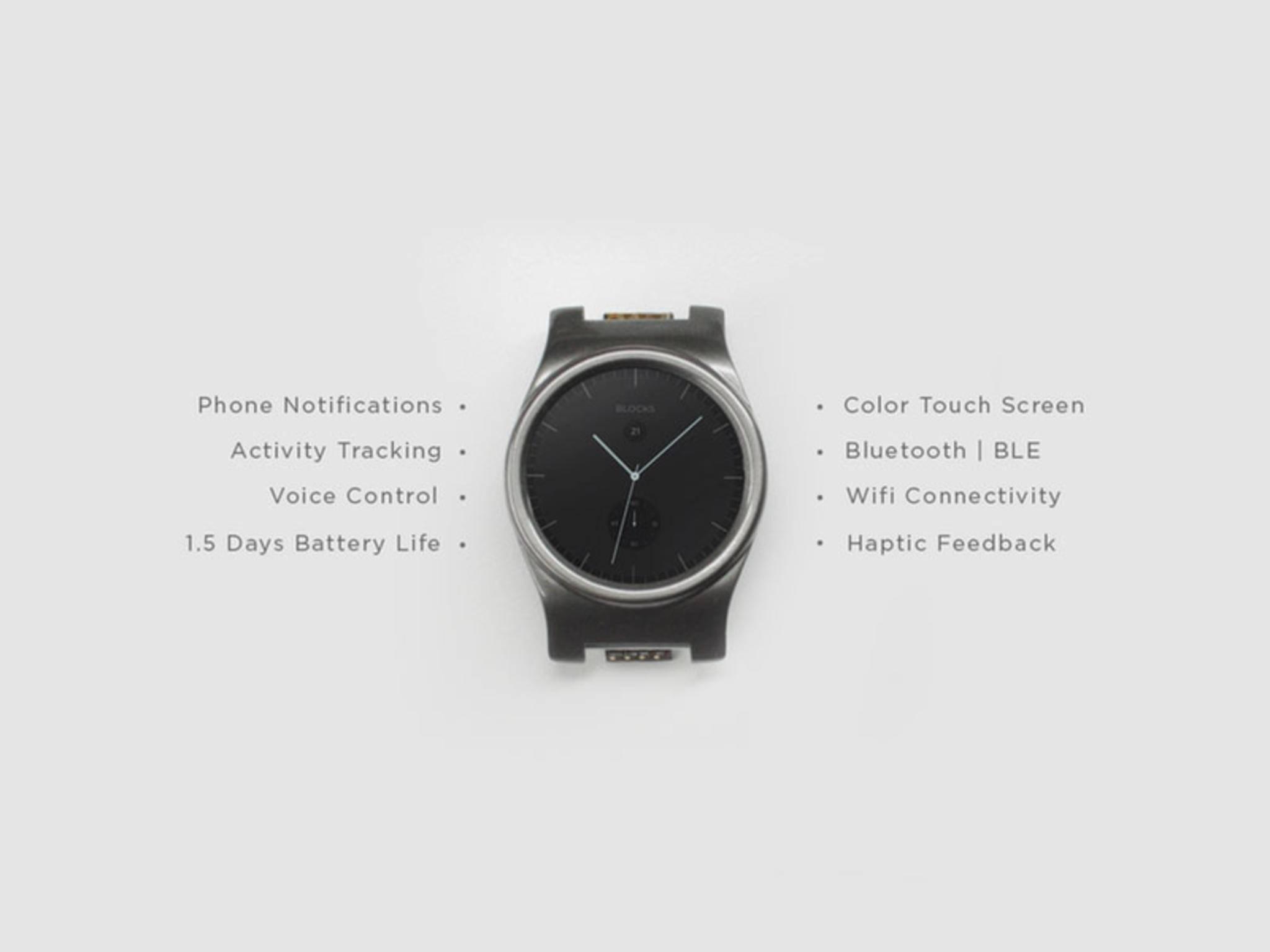 Das sind die Features der eigentlichen Smartwatch.