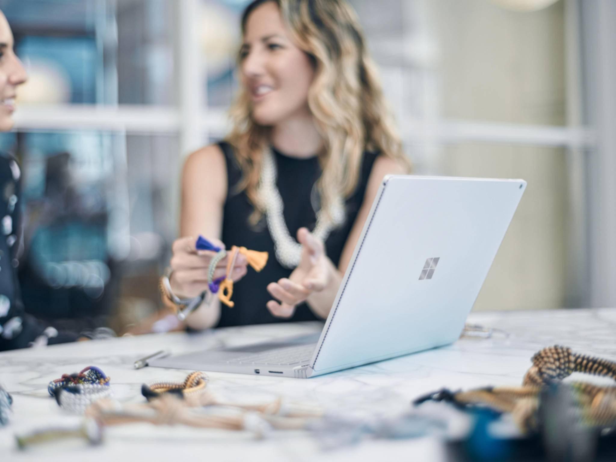 Das Surface Book ist der erste Laptop von Microsoft.