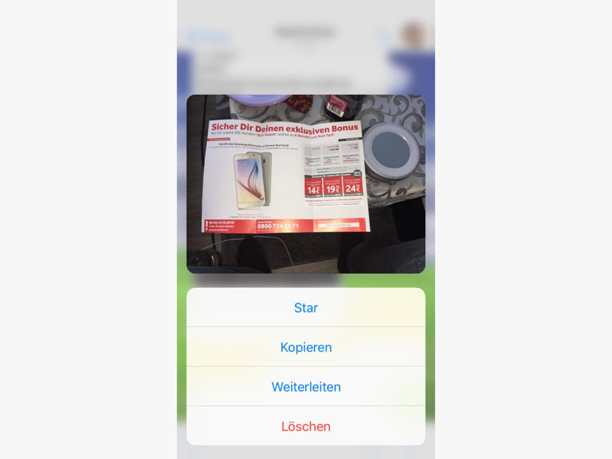 Inhalte wie Bilder oder Videos lassen sich in den Chats als Vorschau anzeigen.