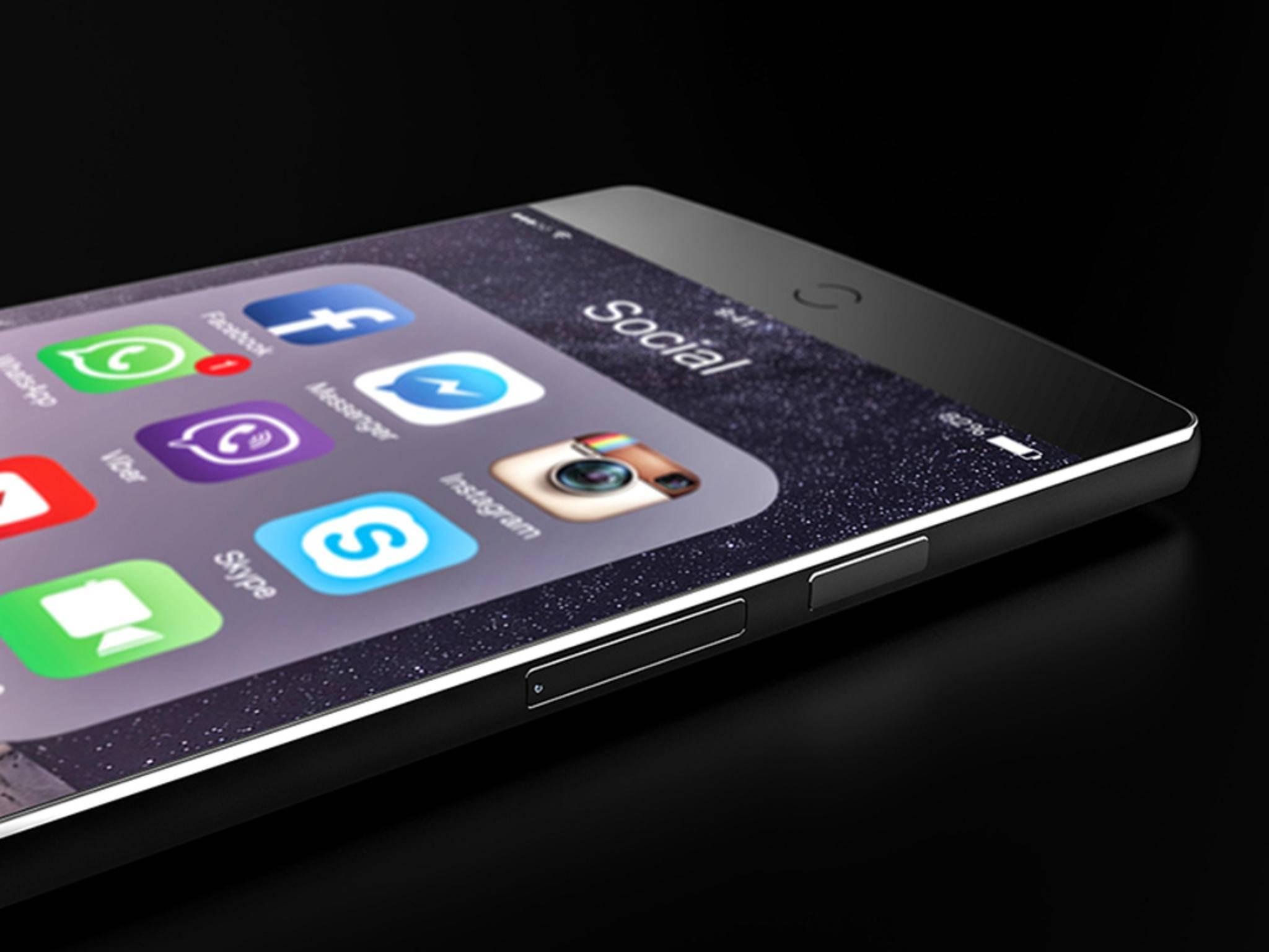 Das iPhone 7 existiert bislang nur auf Konzept-Bildern.