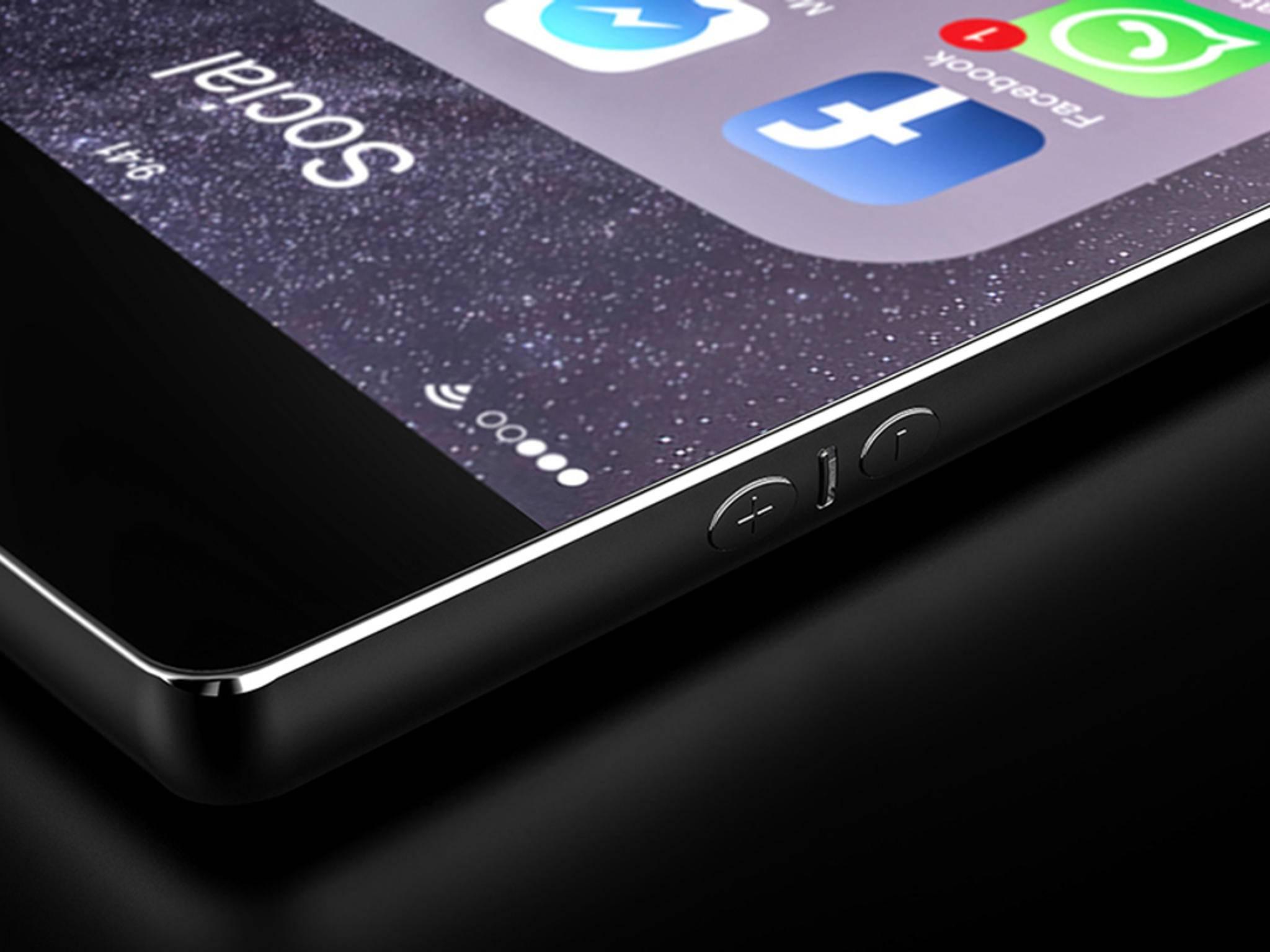 Das iPhone 7s könnte ein Gehäuse aus Glas spendiert bekommen.