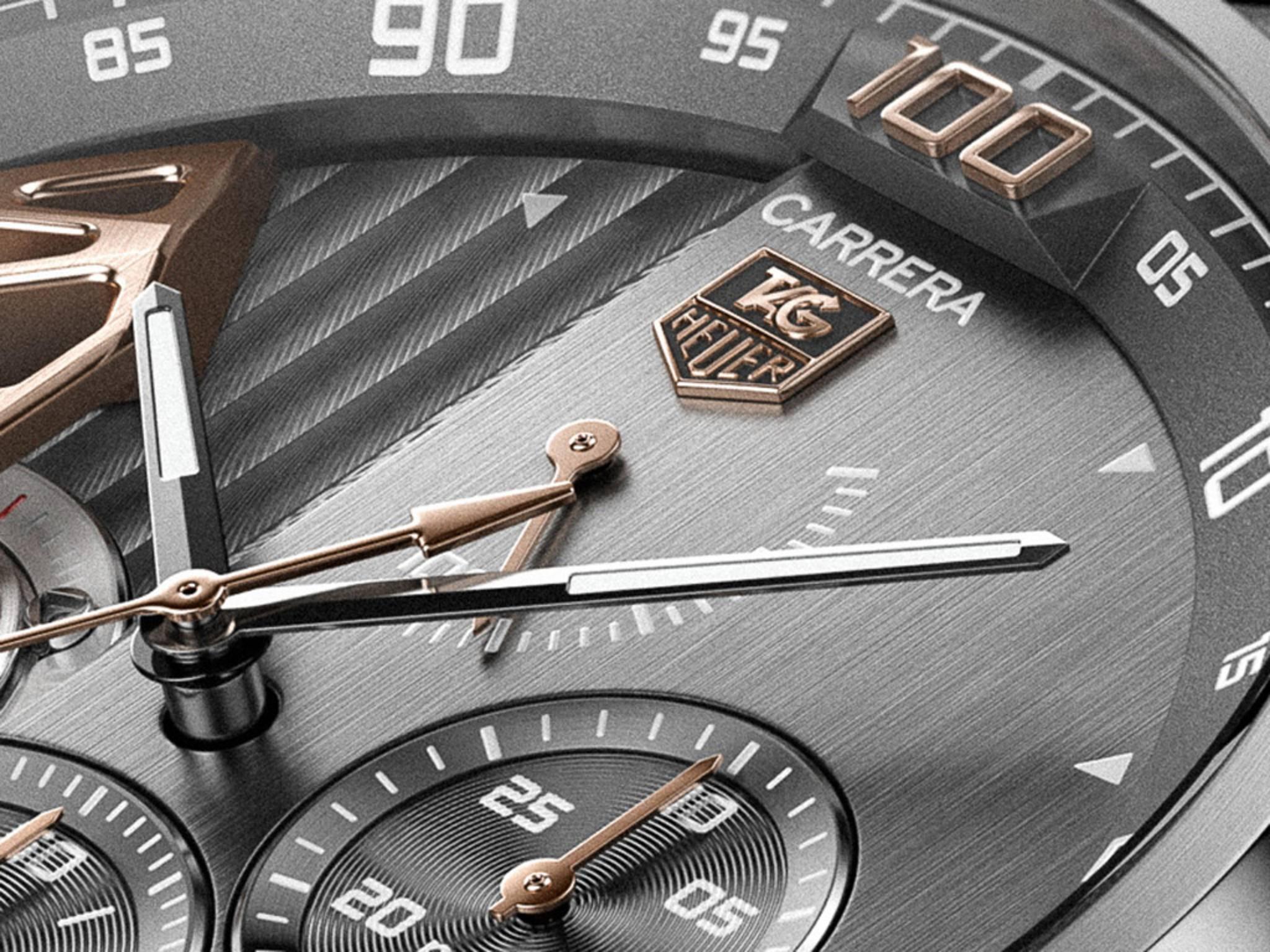 Vorstellung am 9. November: TAG Heuer zeigt seine Smartwatch für 1800 Dollar.